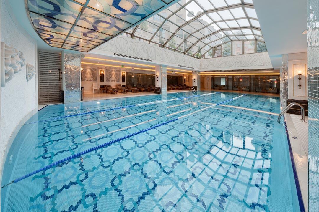 Pool at CVK Park Bosphorus Hotel Istanbul