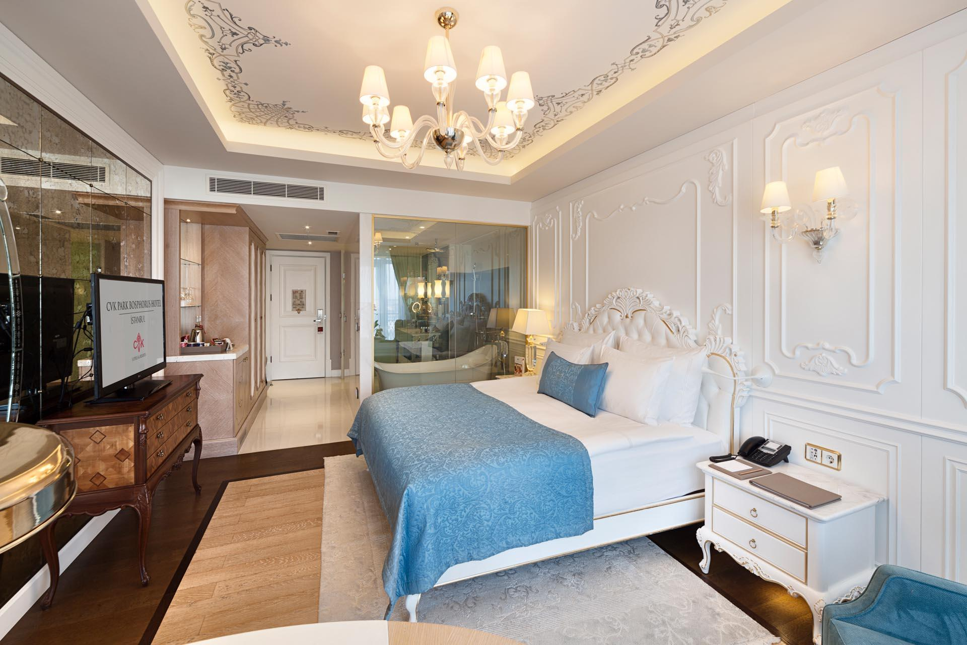 Superior room at CVK Park Bosphorus Hotel Istanbul