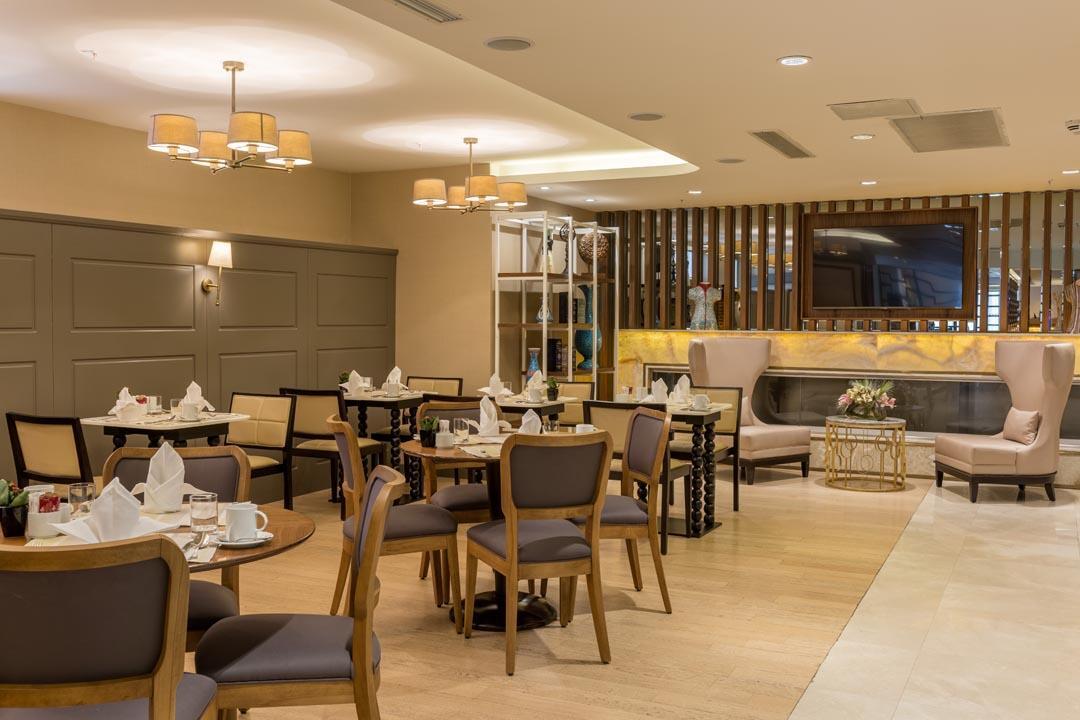 Lounge at CVK Park Prestige Suites in Istanbul