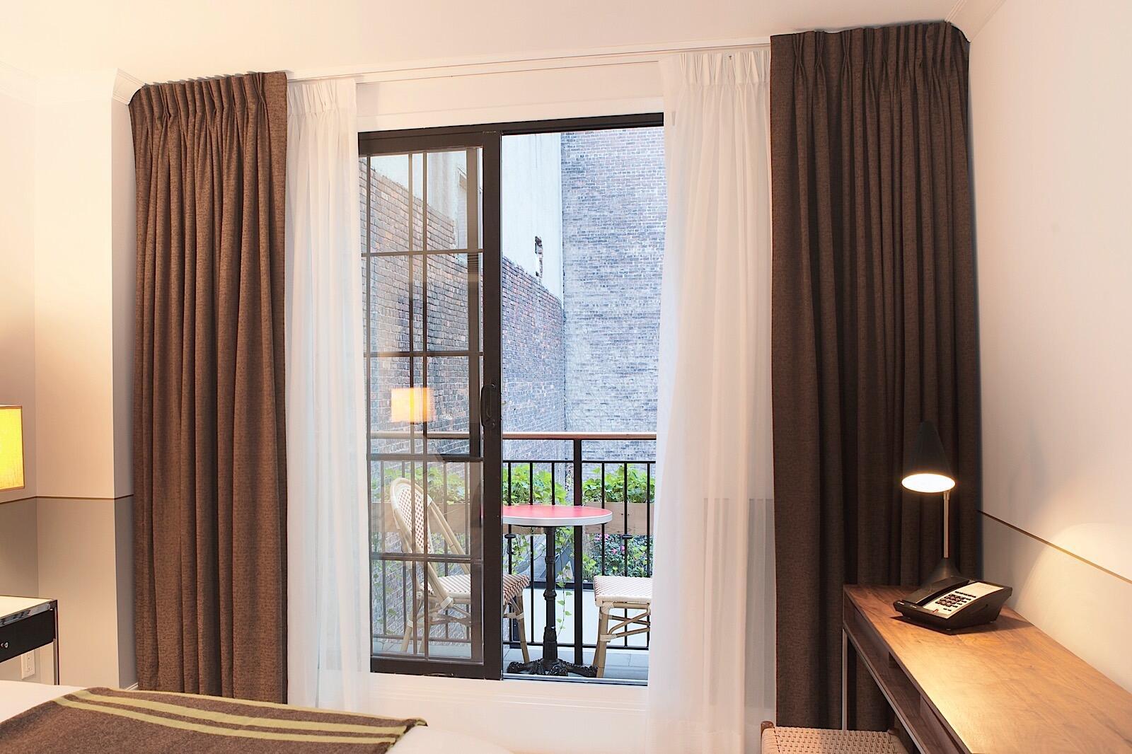 Penthouse Glass Door to Terrace
