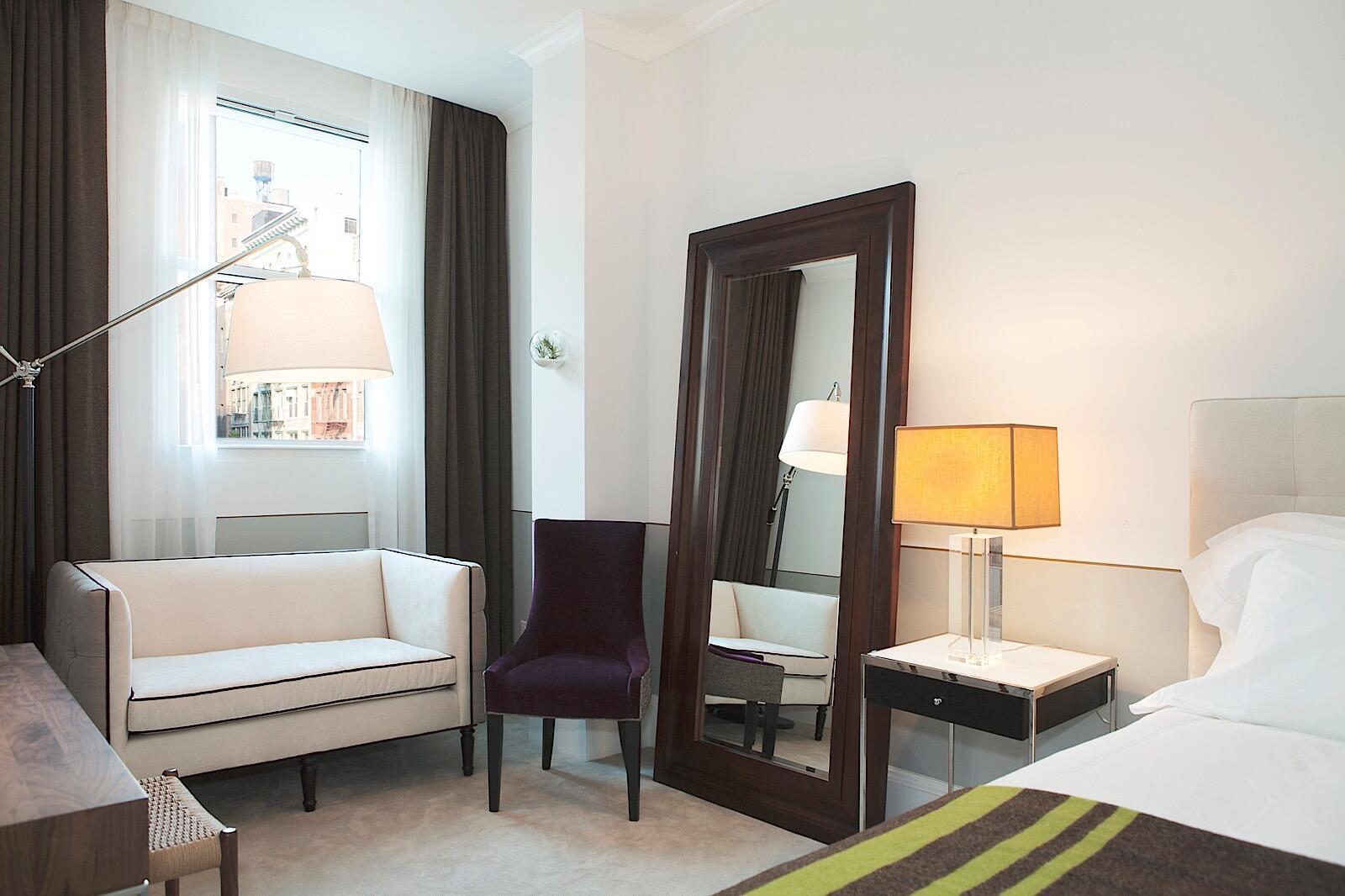 Junior Suite Interior with city views