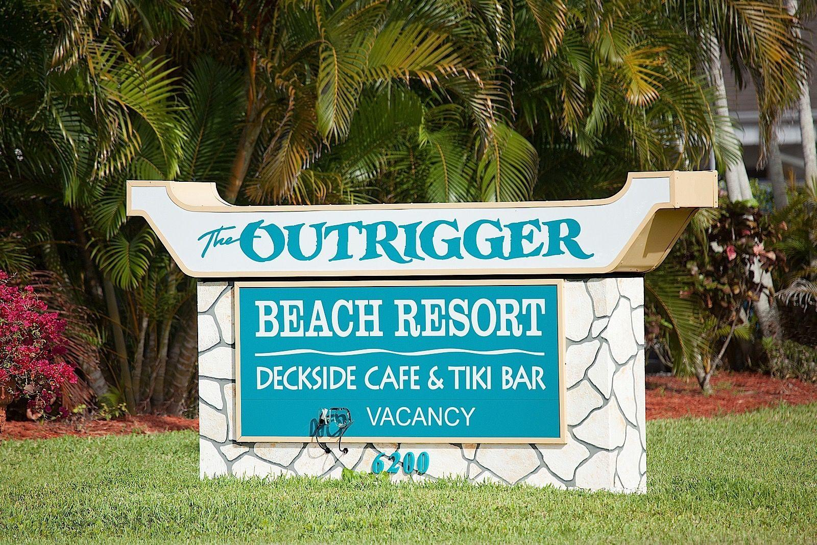 Outrigger Sign