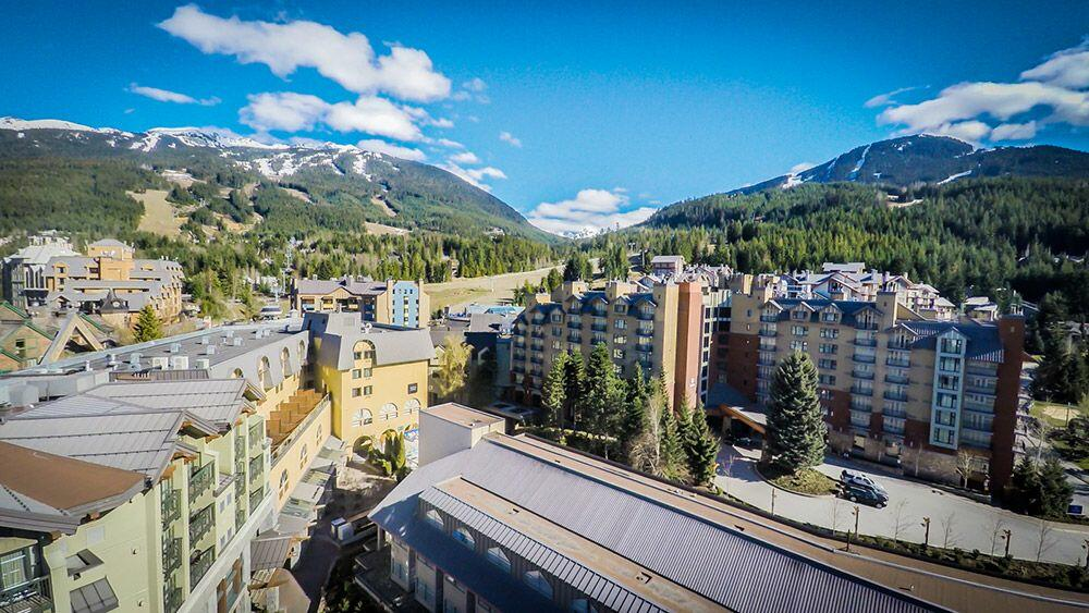 Wide panoramic photo of