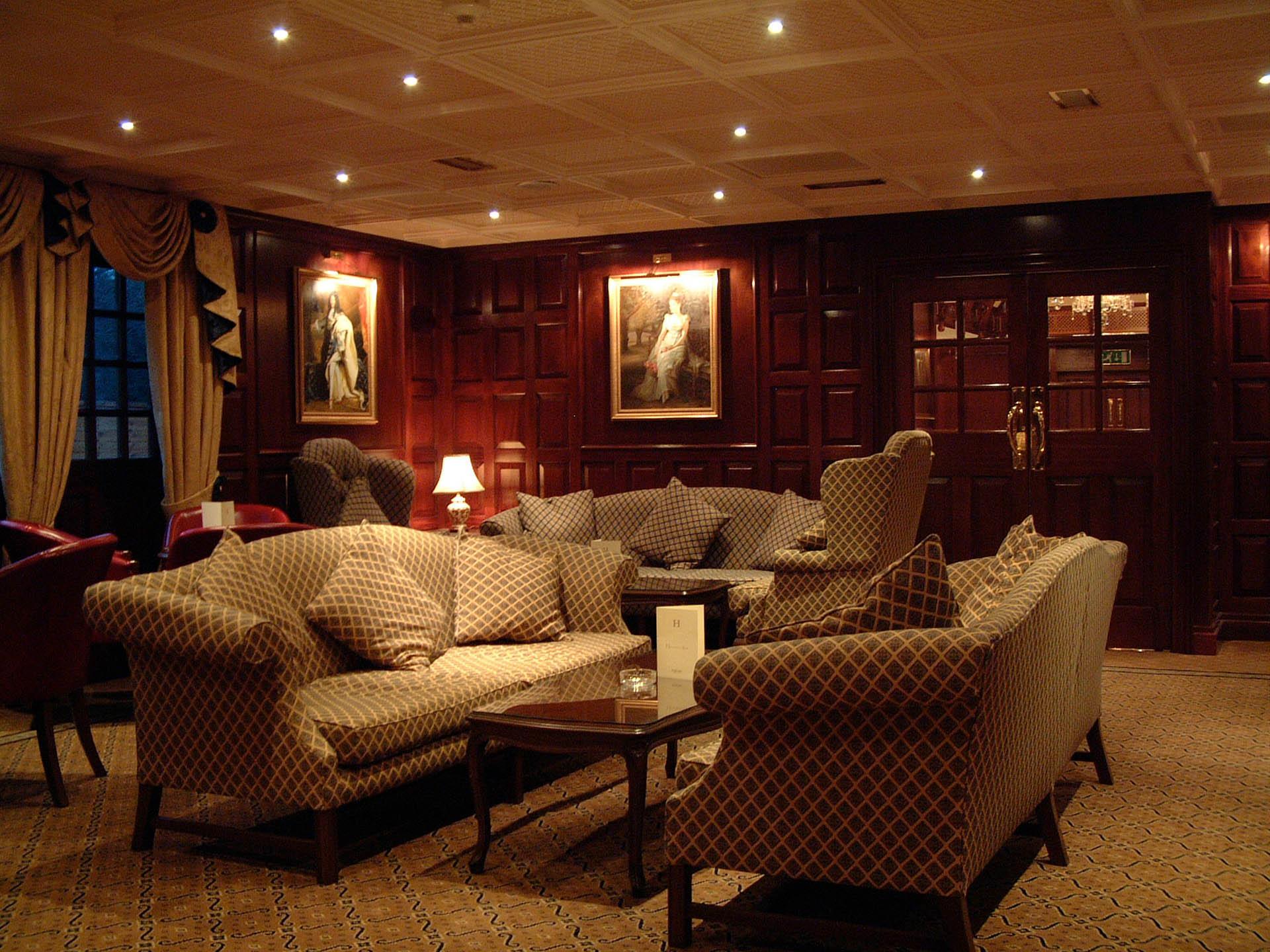 Bar lounge at The Barn Hotel, Ruislip