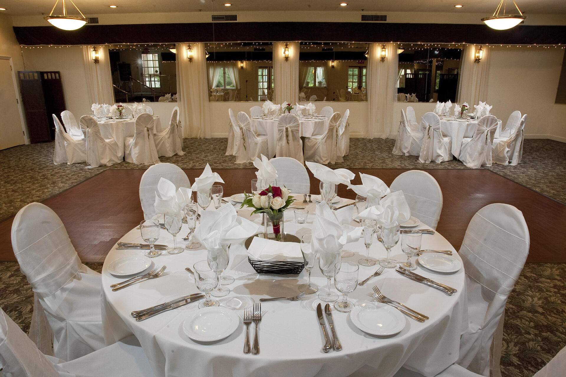 Wedding in Banquet Hall