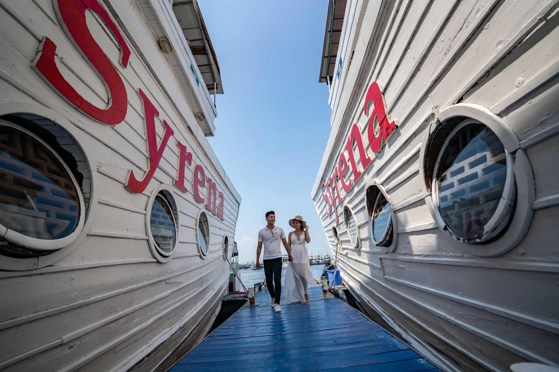 Syrena Cruises - Best Halong Bay Cruises - Exterior