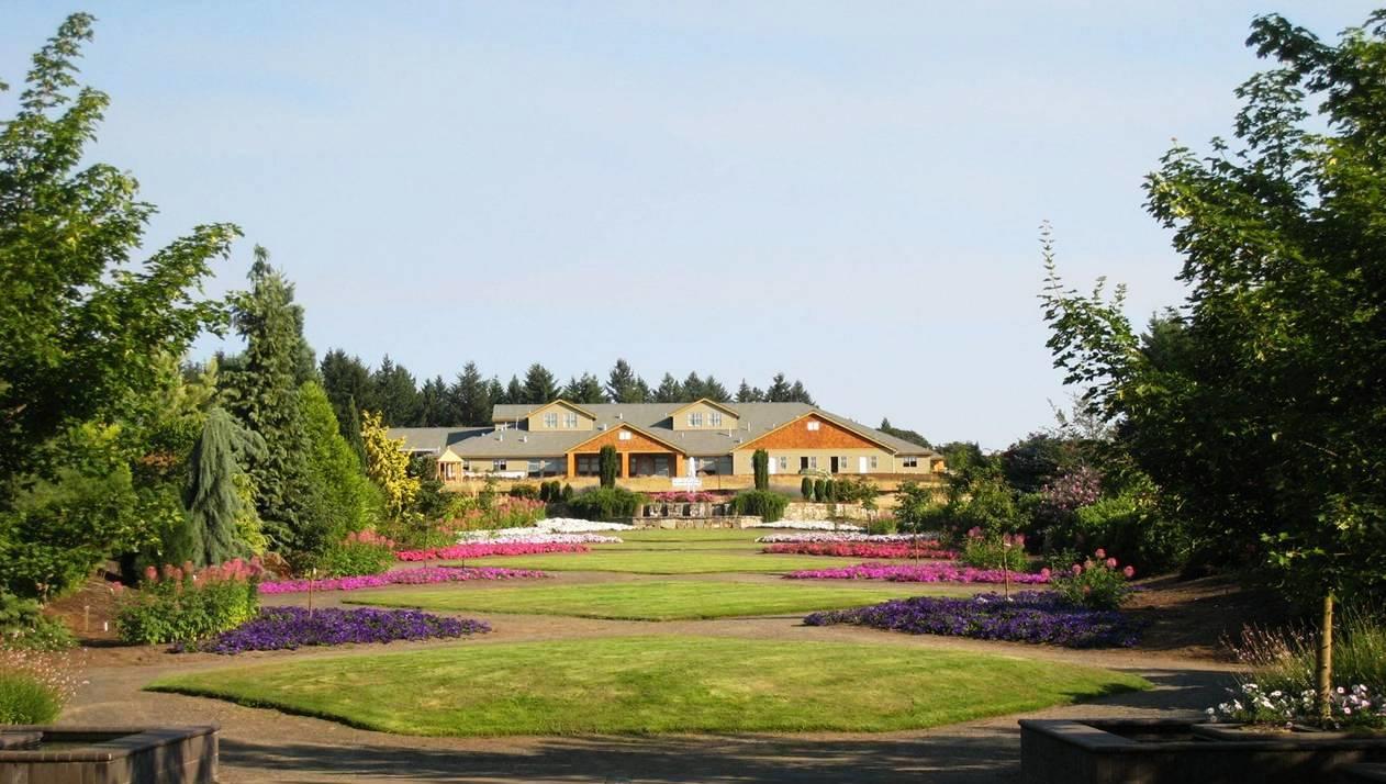 View of the Oregon Garden Resort