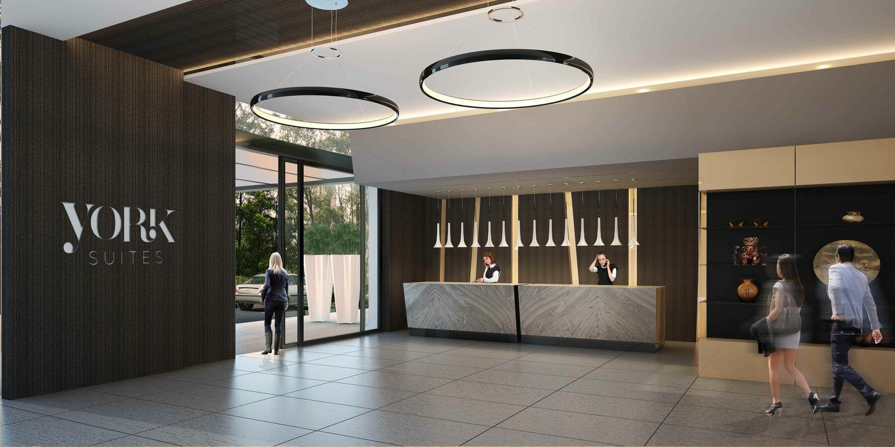 York Suites Lobby