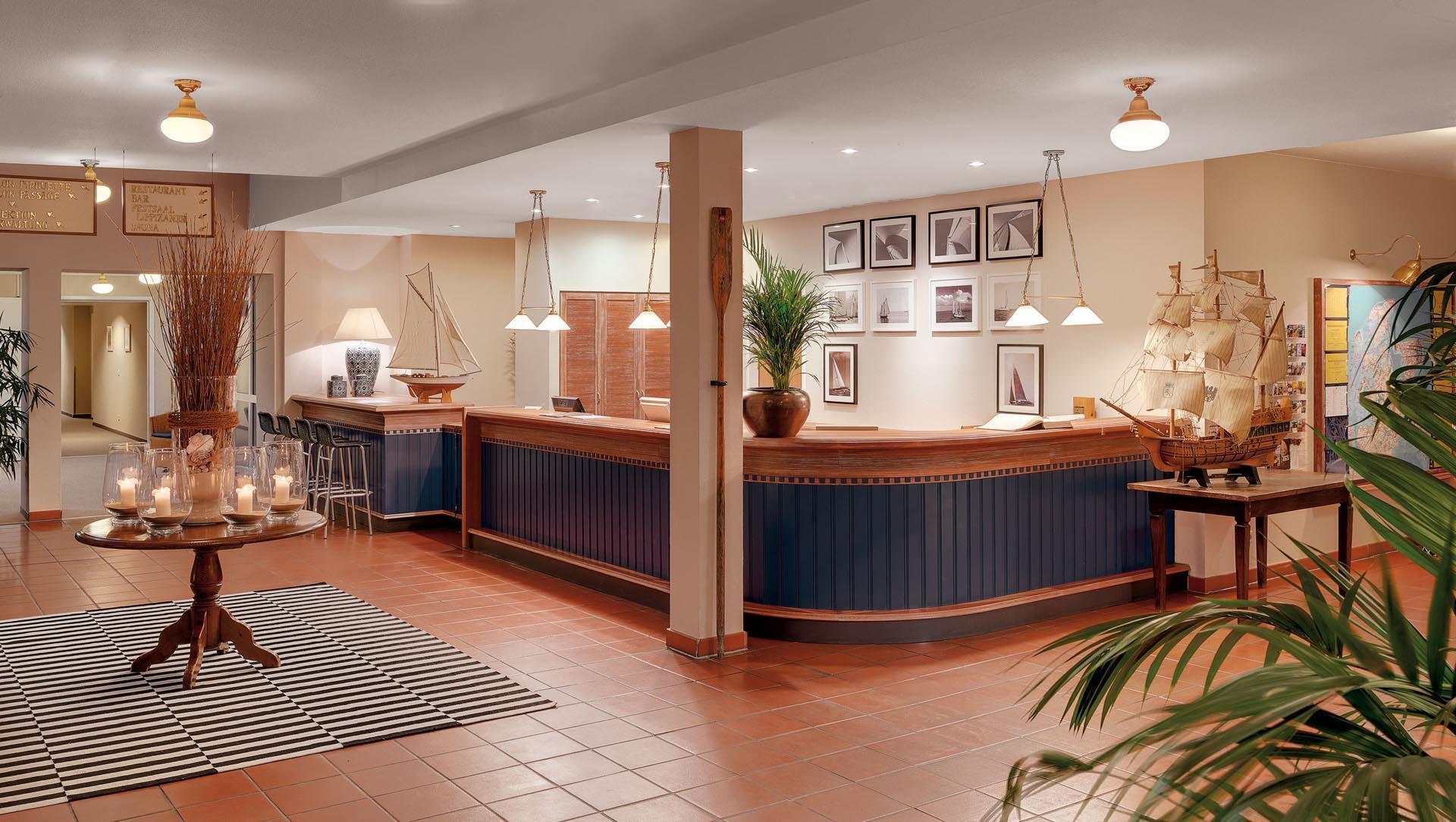 reception at Precise Resort Rügen