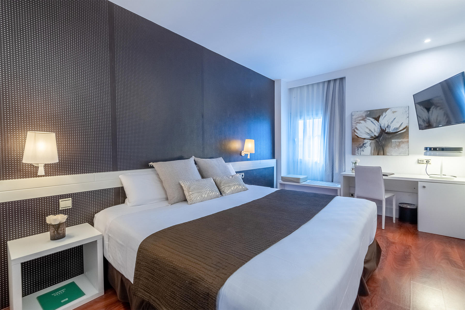 Double Room at Hotel Amura Alcobendas near Madrid Airport