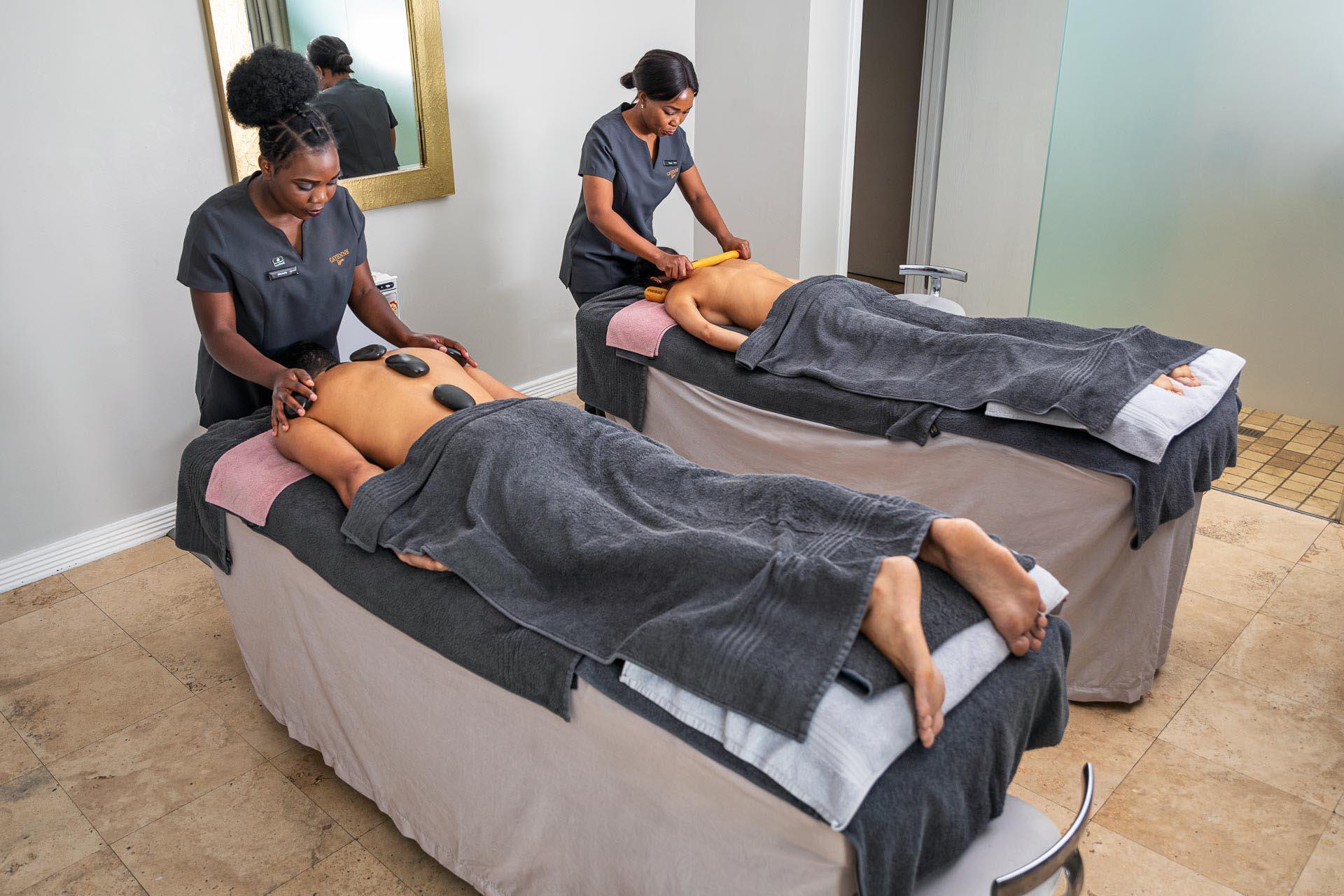 massage at Cayenne Spa