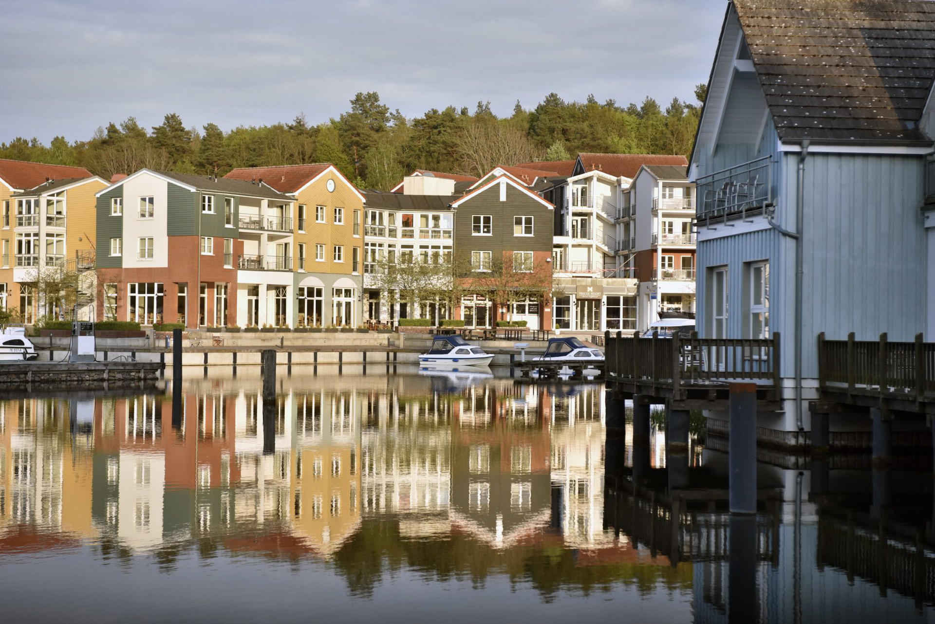 picturesque town near Precise Resort Marina Wolfsbruch