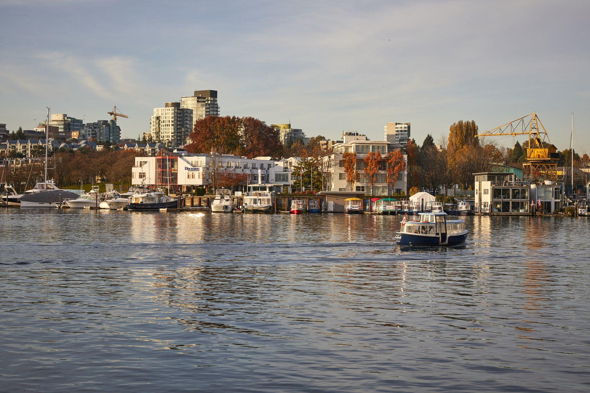 granville island hotel waterfront boutique hotel false creek va