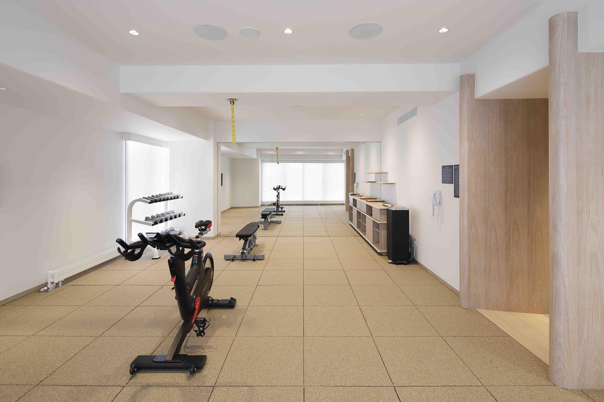 Gym Facilities at Chatrium Niseko