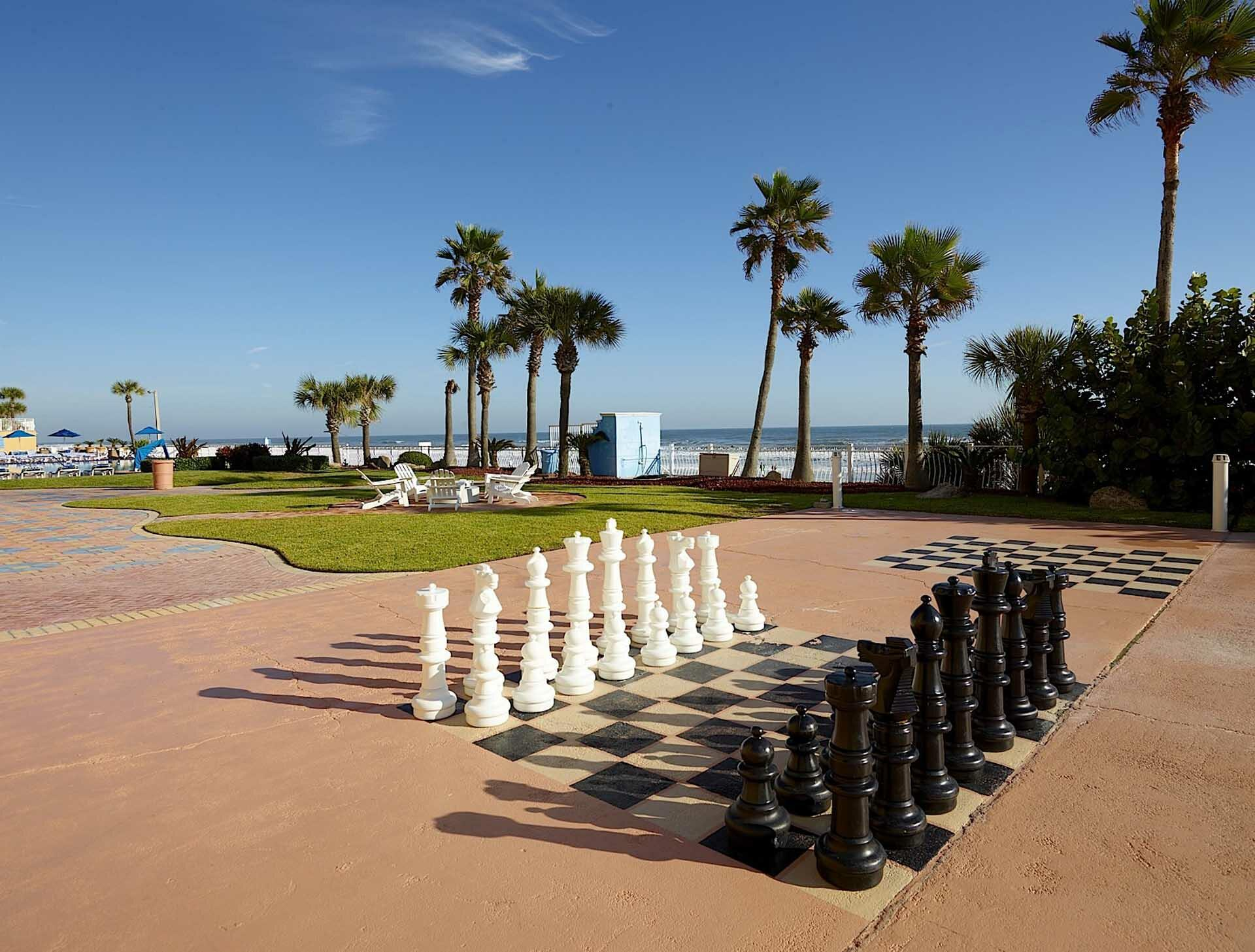 outdoor oversized chess