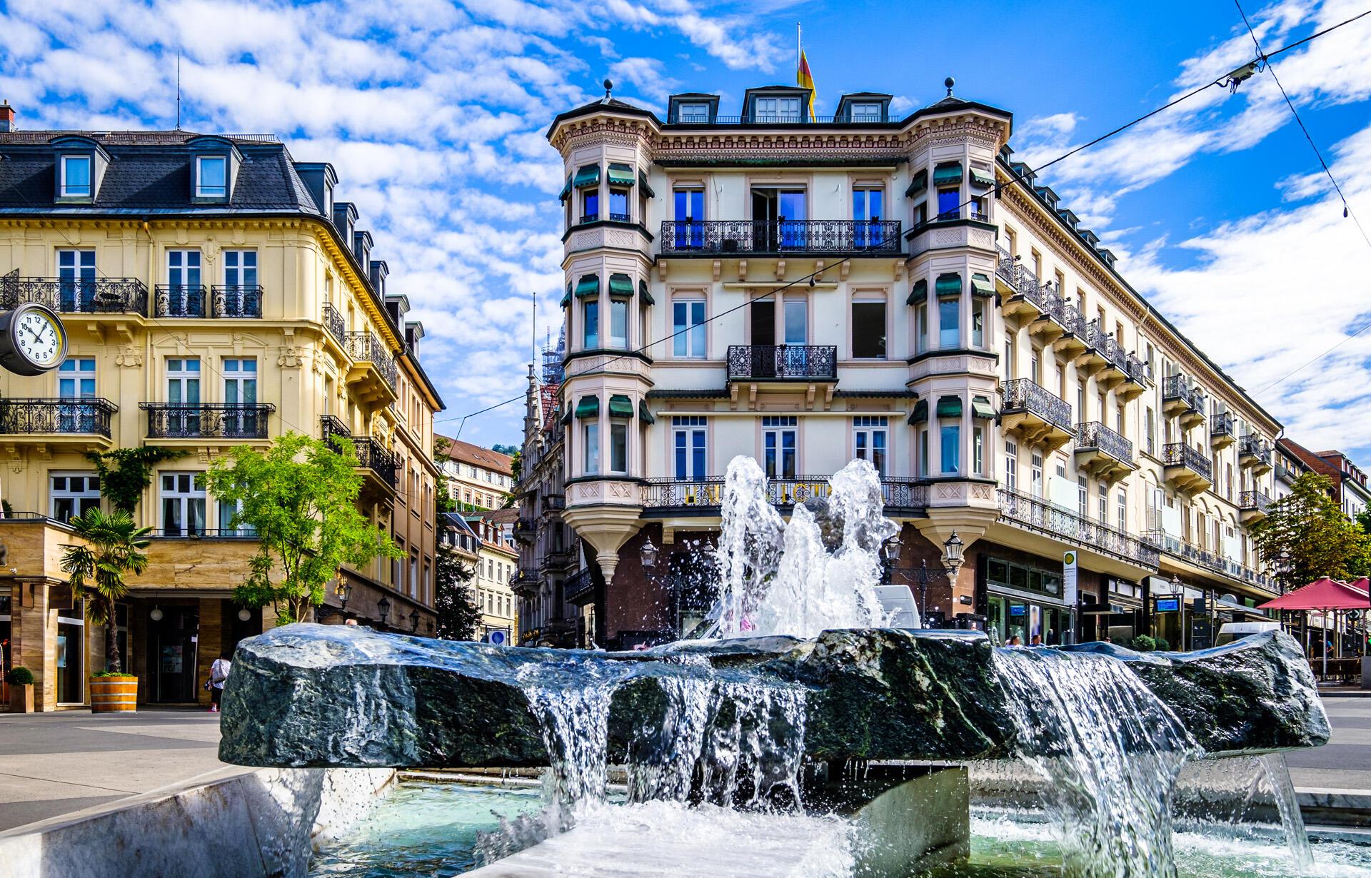 view of Baden Baden city near Precise Resort Baden Baden