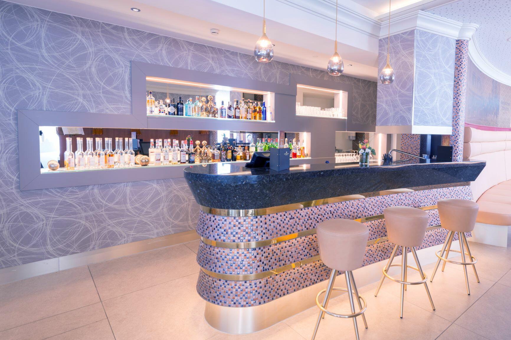 Bar at Hotel Krone Unterstrass in Zurich