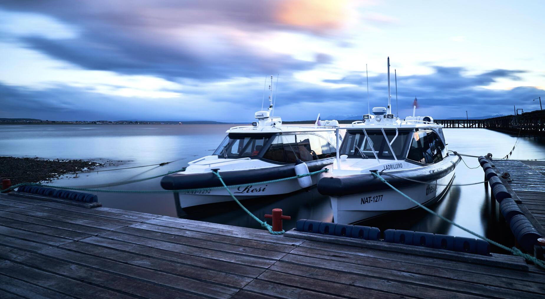Navegaciones por fiordos y glaciares
