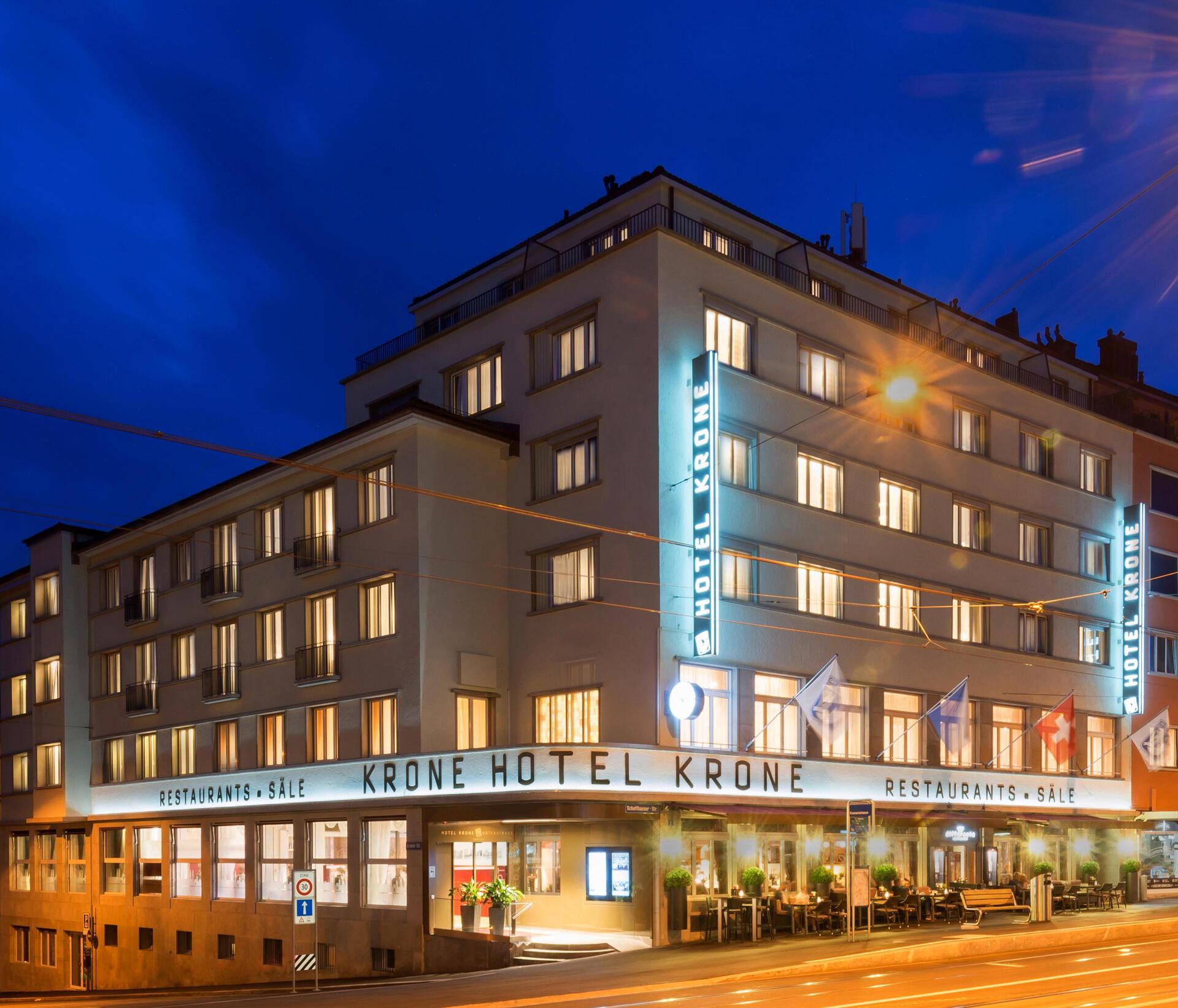 Hotel Krone Unterstrass in Zurich