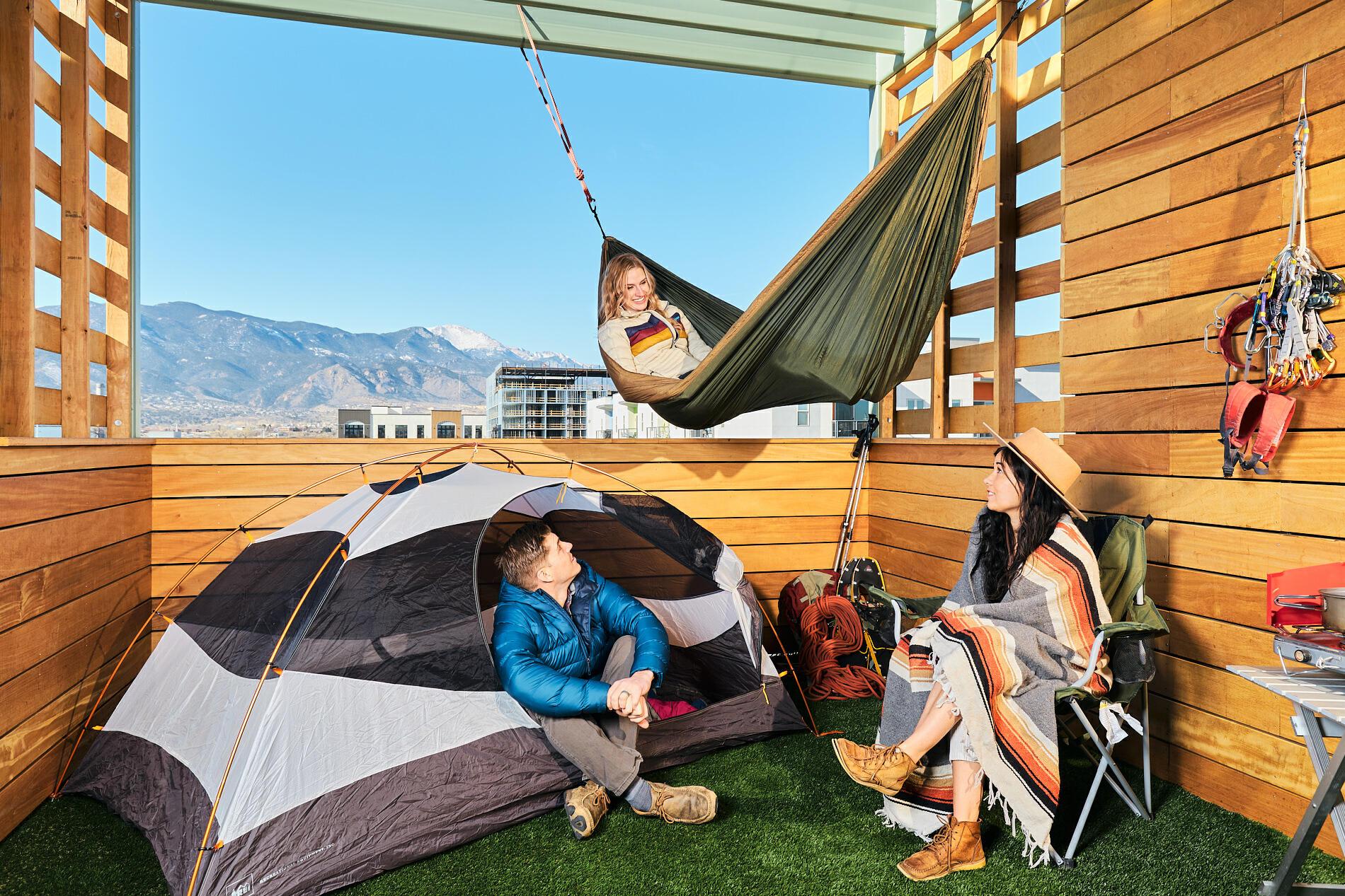 Camping in Colorado Springs