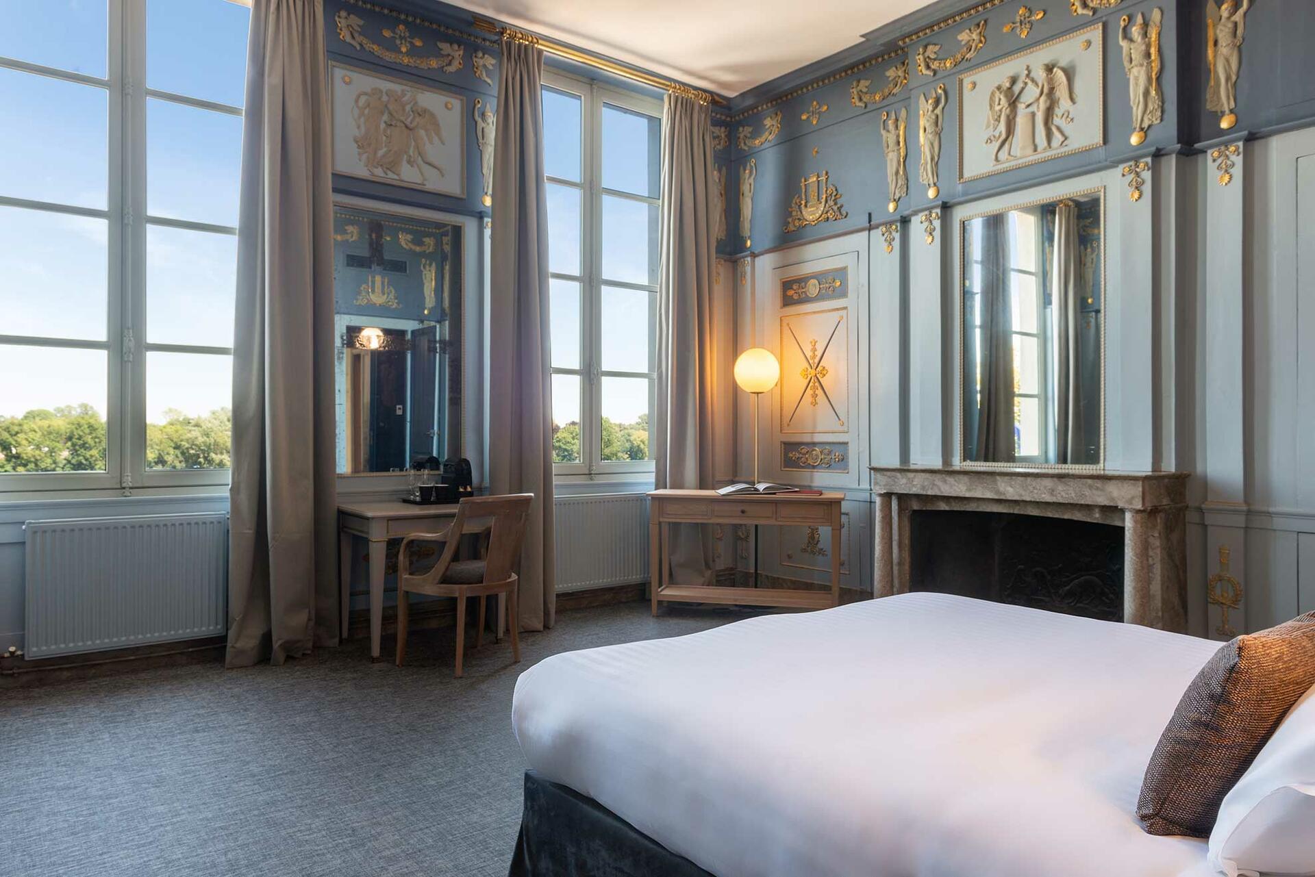 Prestige Room at Hotel Anne d'Anjou in Saumur, France