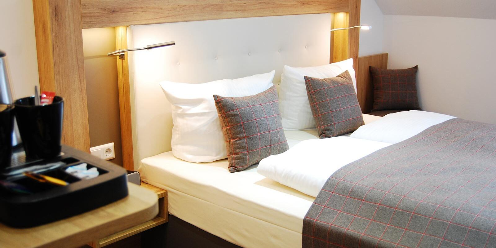 Relax and peace bedrooms  at Residenz Hotel Am Martinsberg