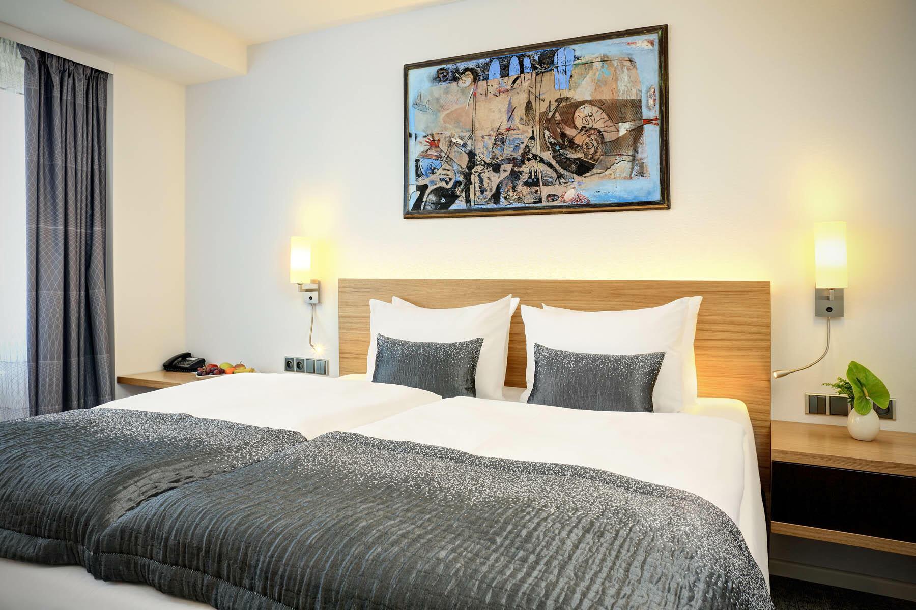 Presidential Suite Bedroom,  Hotel Duo, Prague 9, Czech Republic