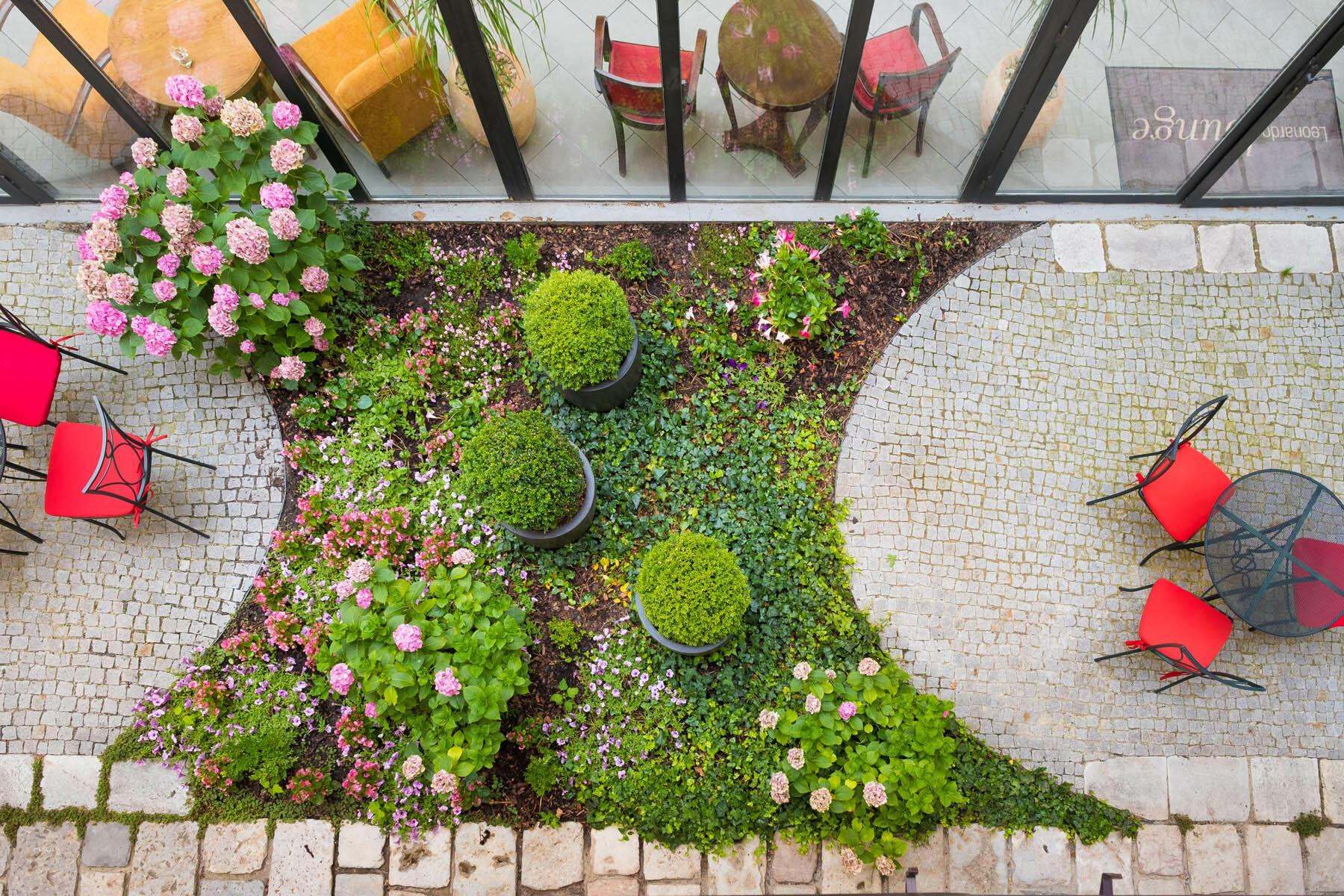 Winter Garden at Hotel Leonardo, Prague 1, Czech Republic