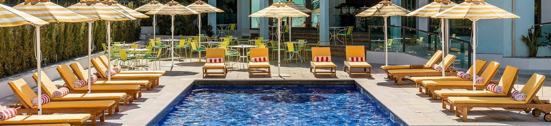 Exterior pool side - The Magnolia Hotel