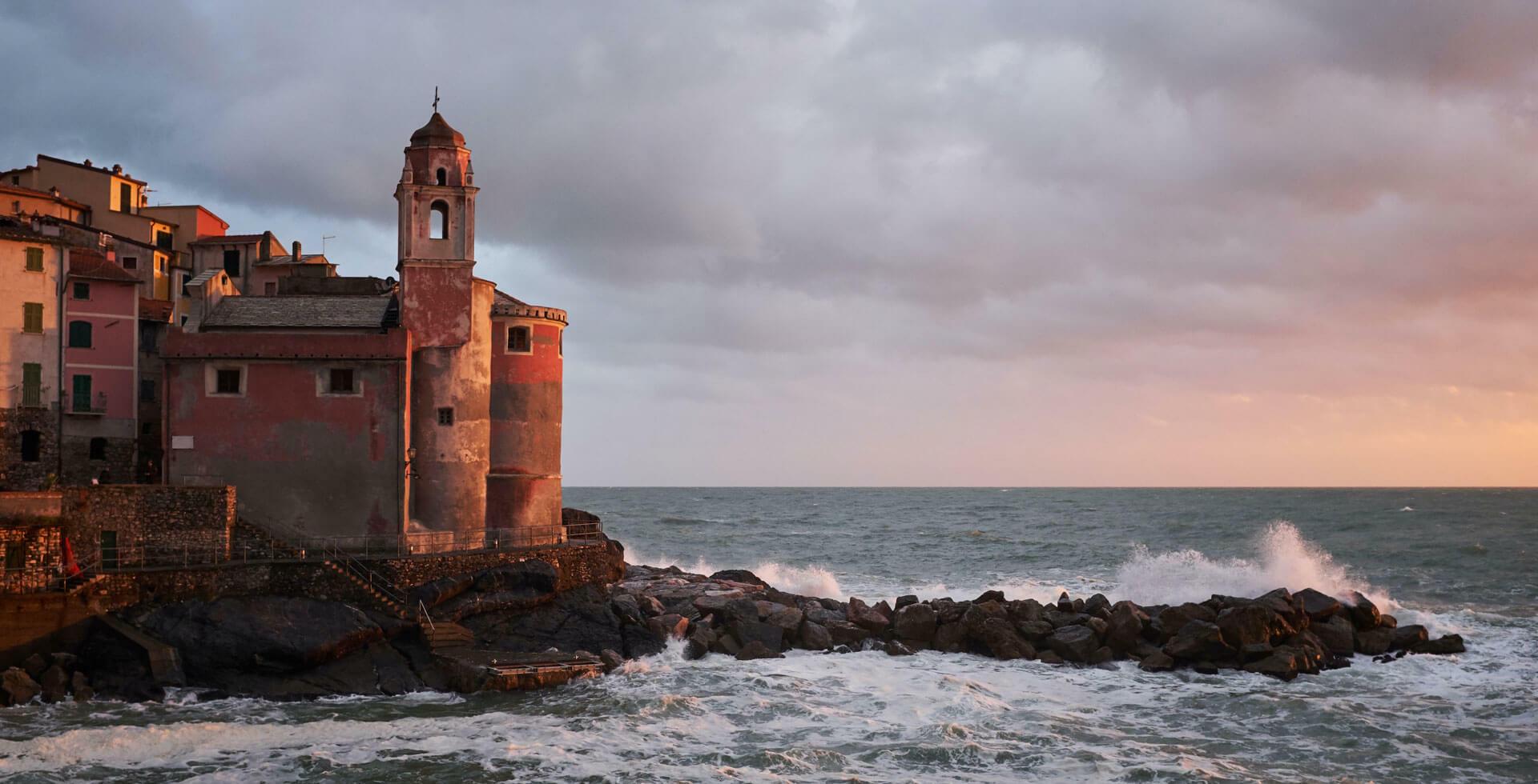 Church near the sea -Grand Hotel Portovenere