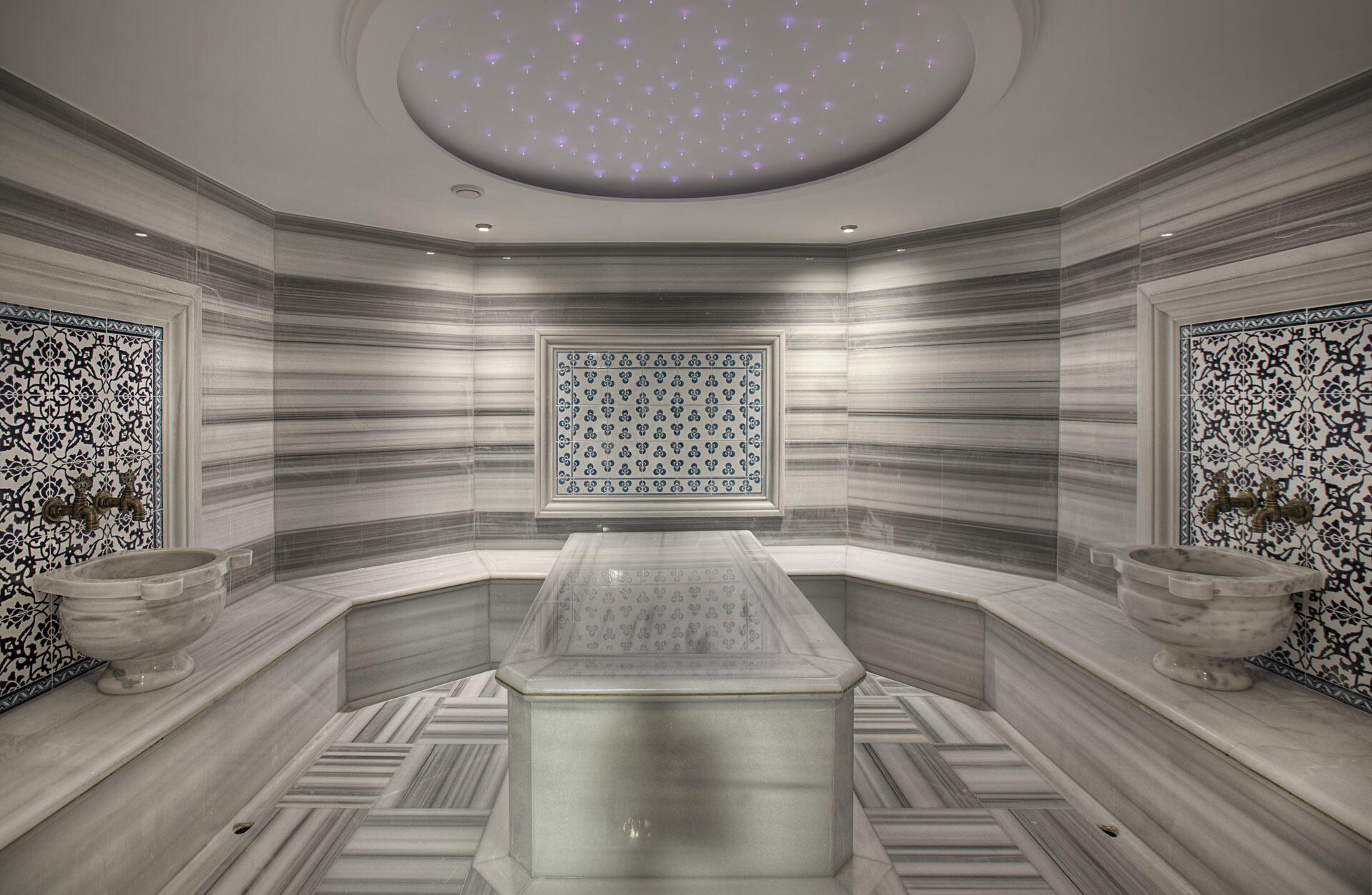 Turkish bath at Hotel Arcadia Blue Istanbul