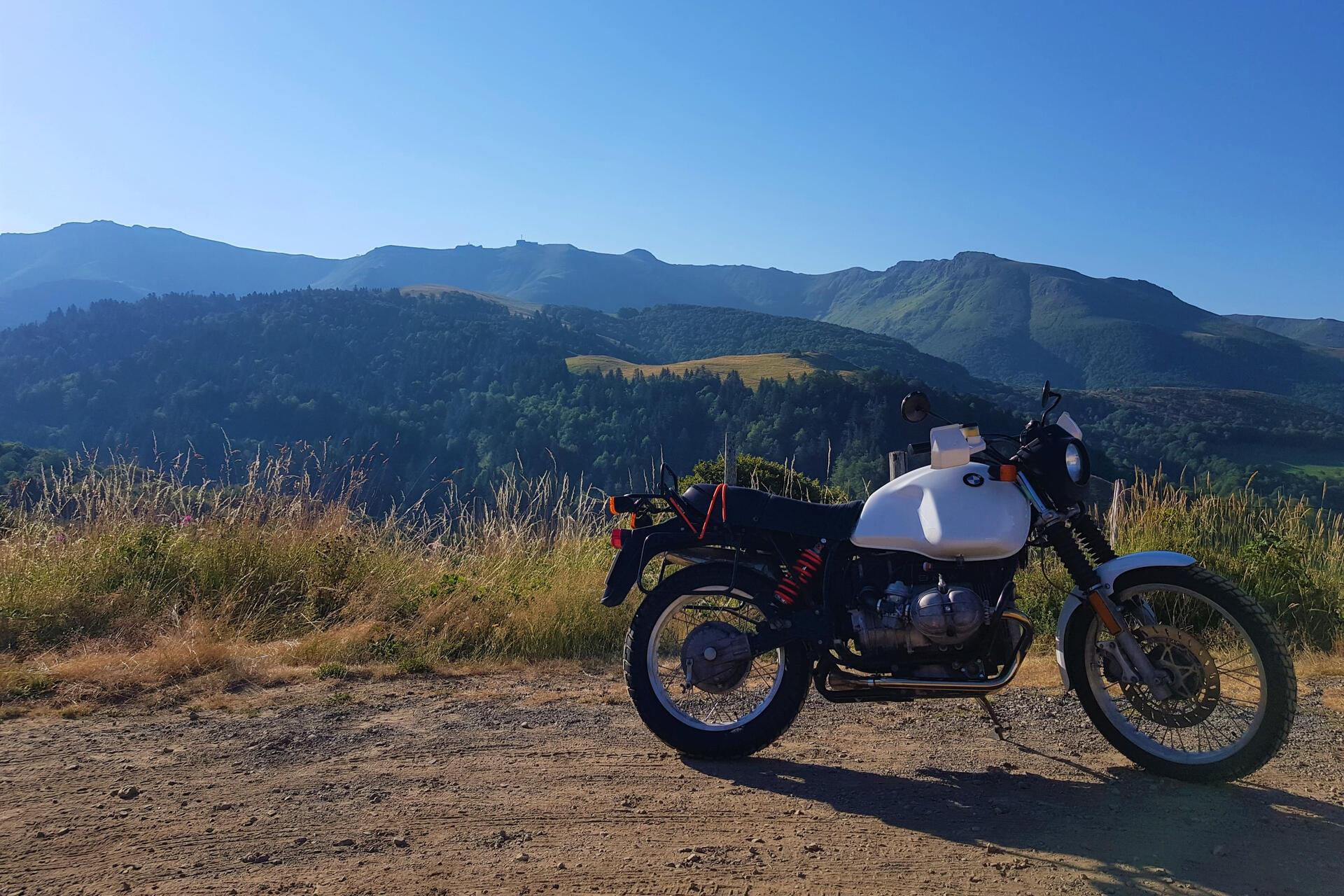 Balade Moto Cantal