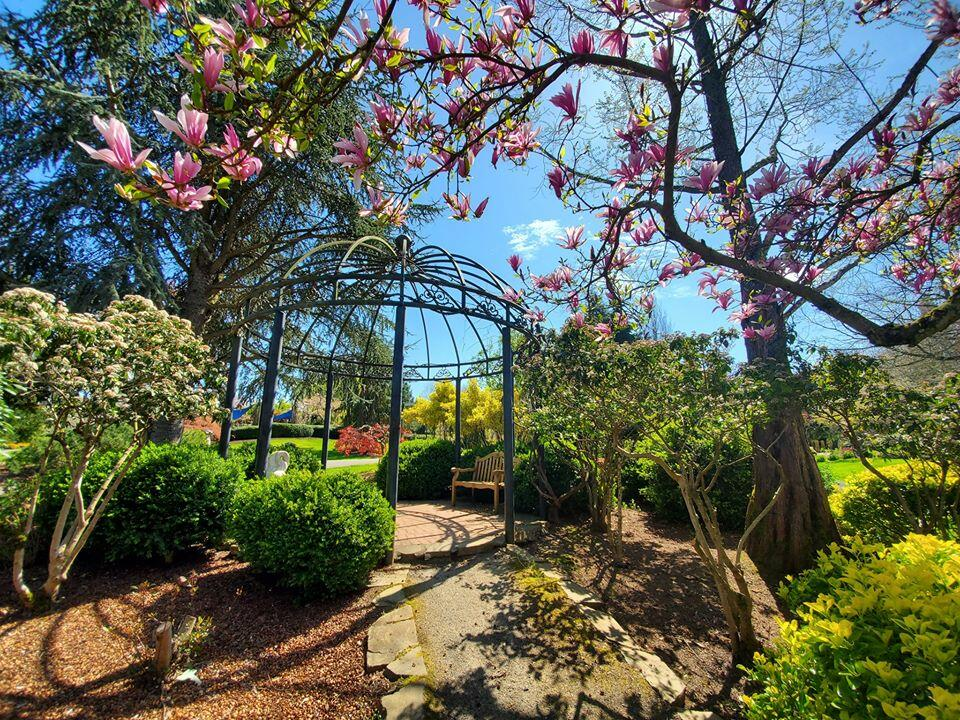 Gazebo in the Oregon Garden