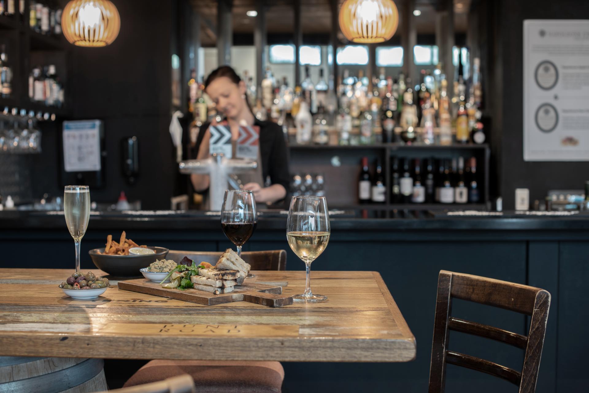 Dining at Lodge Bar & Cafe - Yarra Valley Lodge