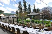 Coast Canmore Hotel Conference Centre - Patio Event Set Up