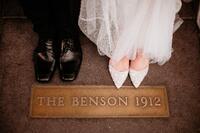 The Benson - Weddings - Bride and Groom Wedding Feet