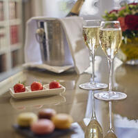 VIP Welcome in Suite at Warwick Hotels and Resorts