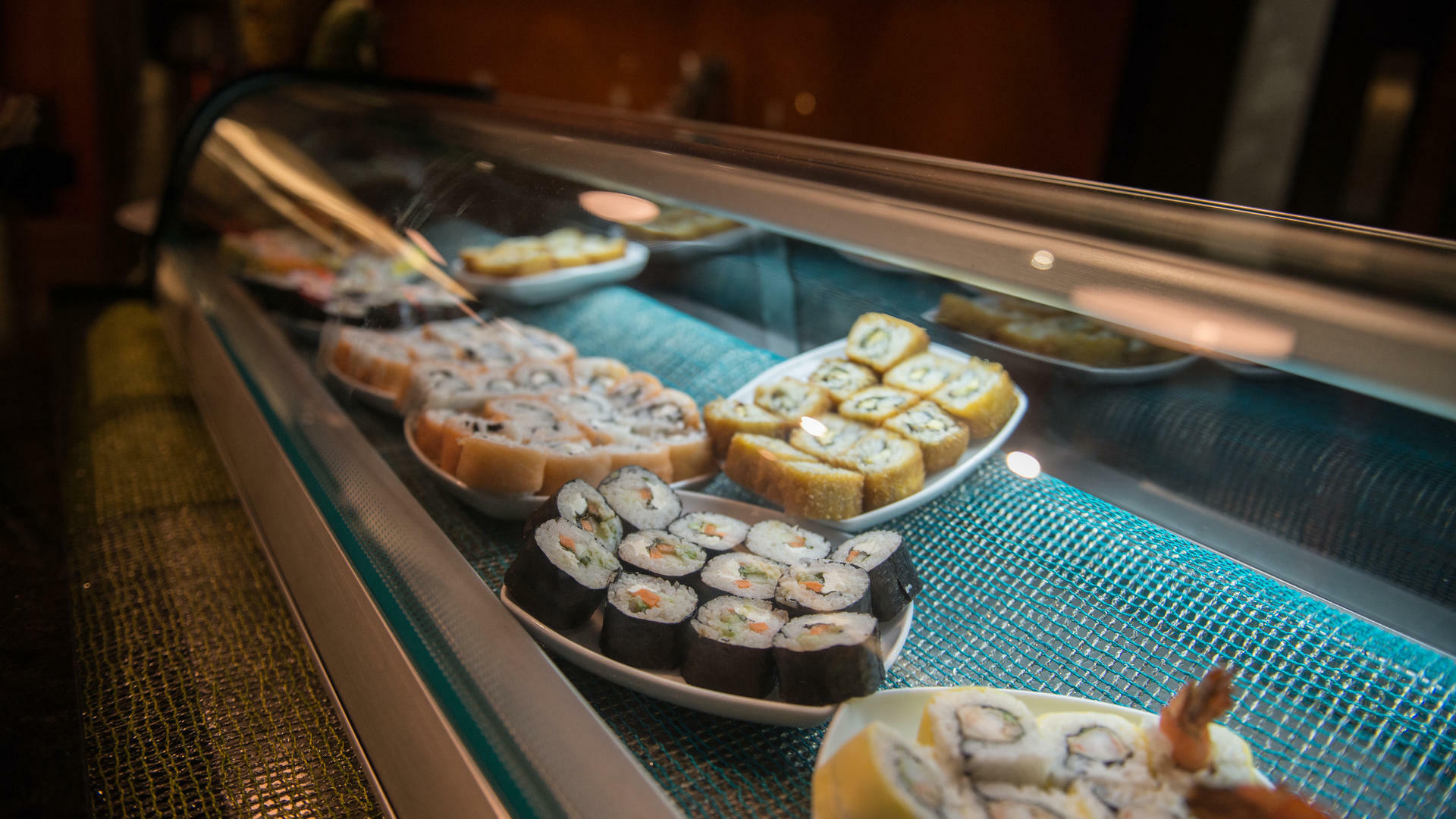 Sushi dishes served at Marche Restaurant in Mundo Imperial