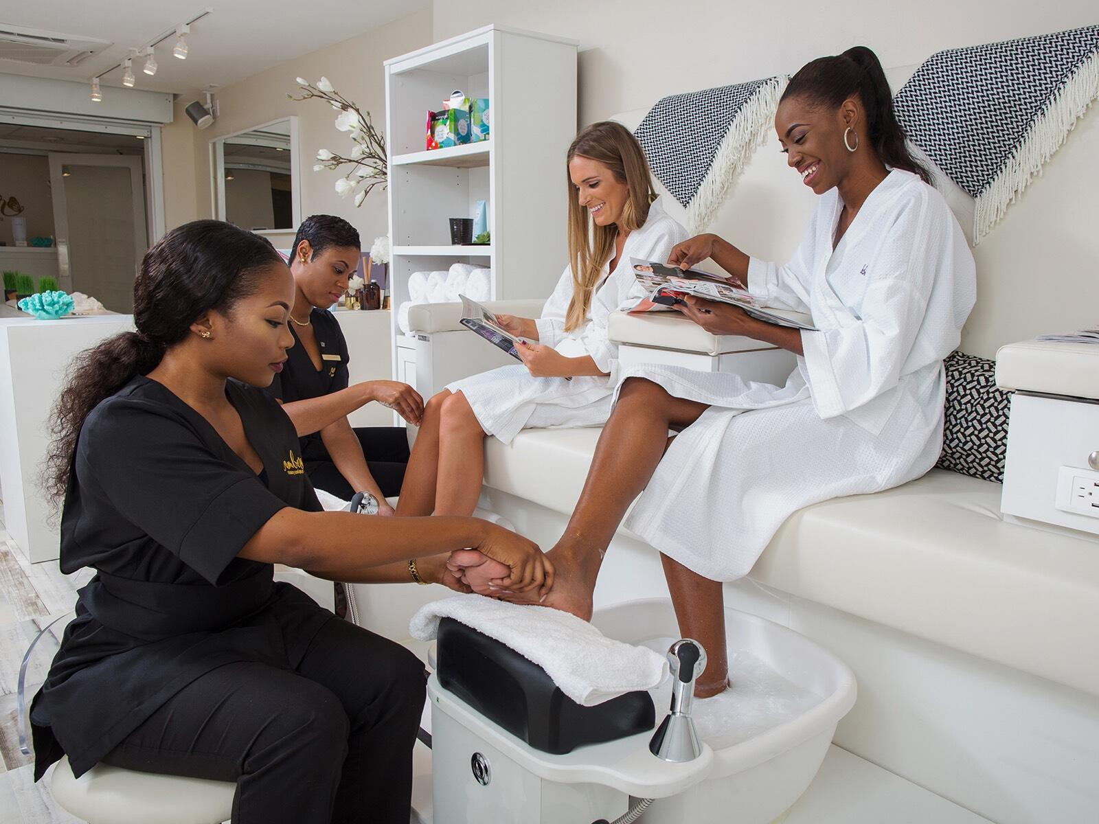 Amber Spa Pedicure