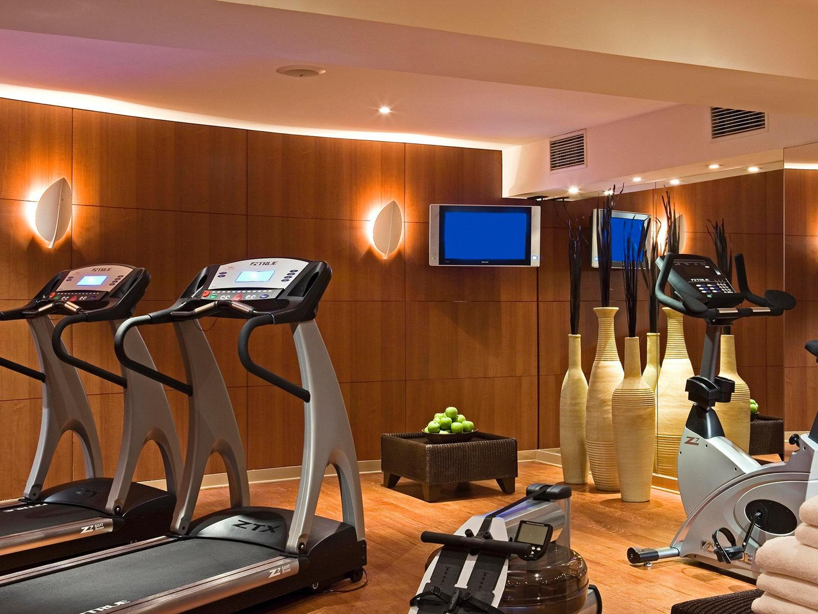 Fitness Room at Warwick Brussels Hotel