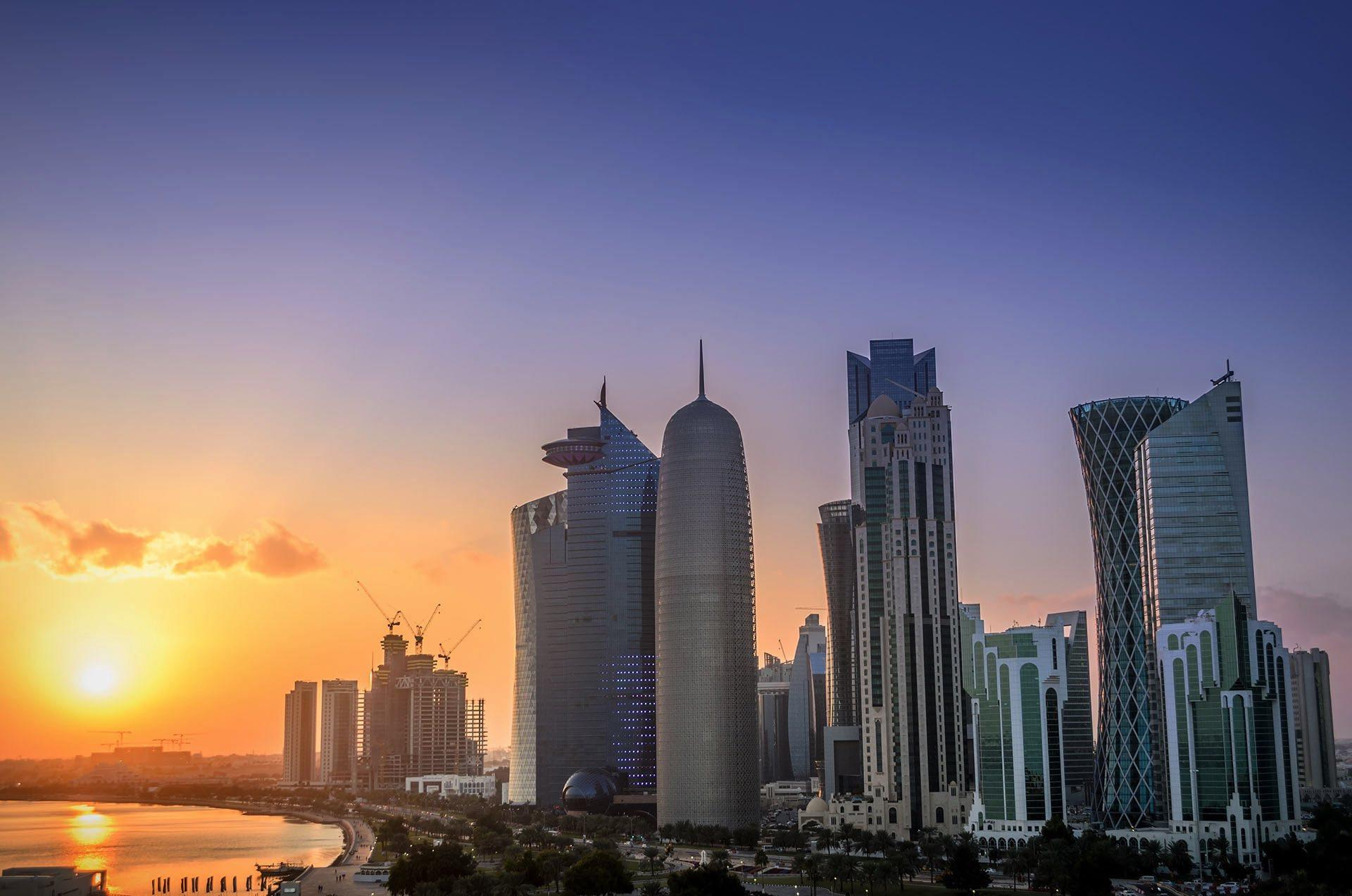Doha sunset