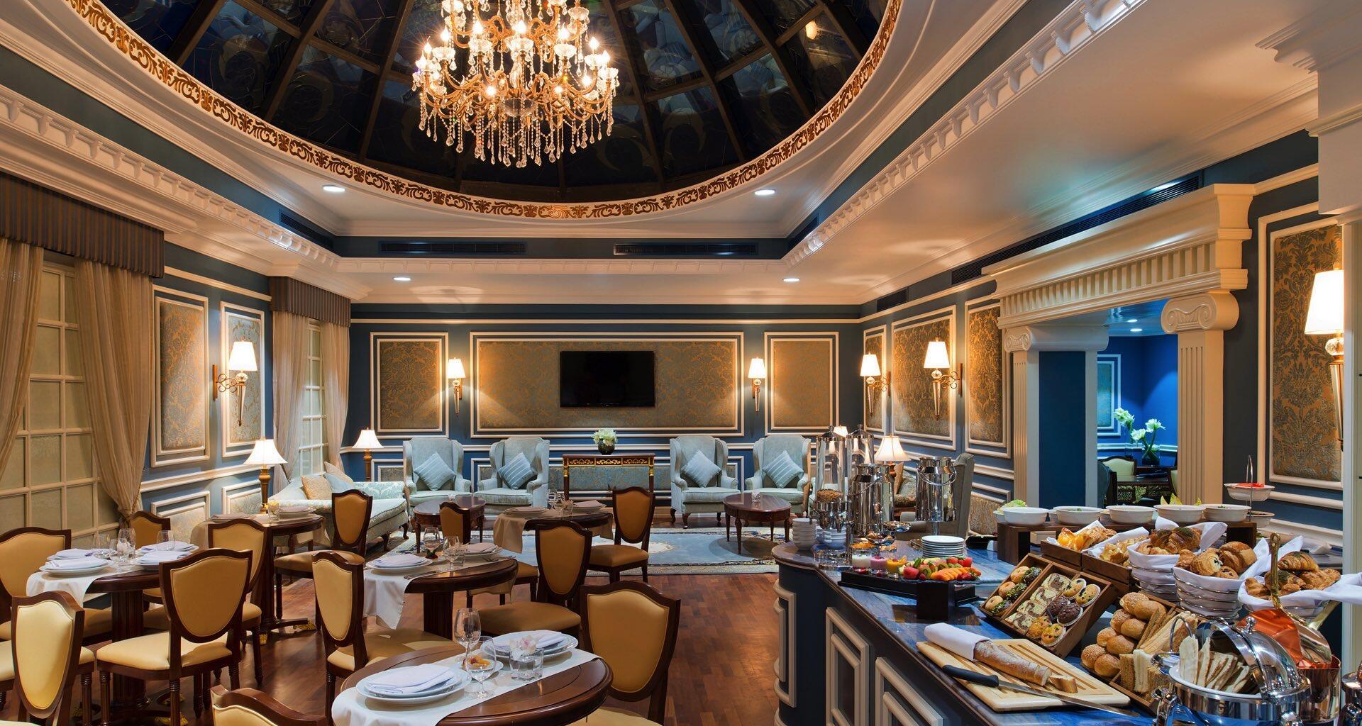 Blue Room at Warwick Doha
