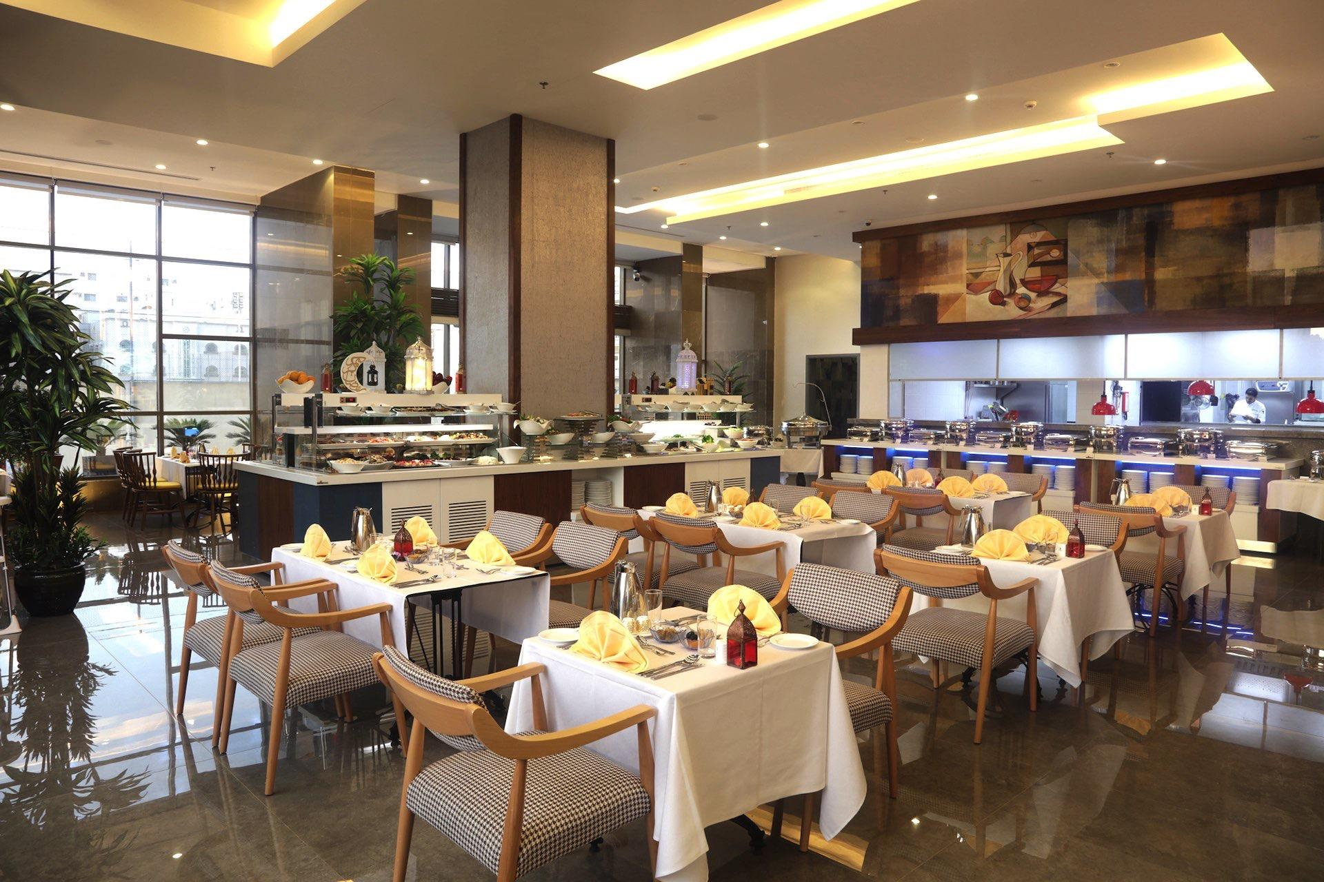 Dining Area at Salsabil By Warwick