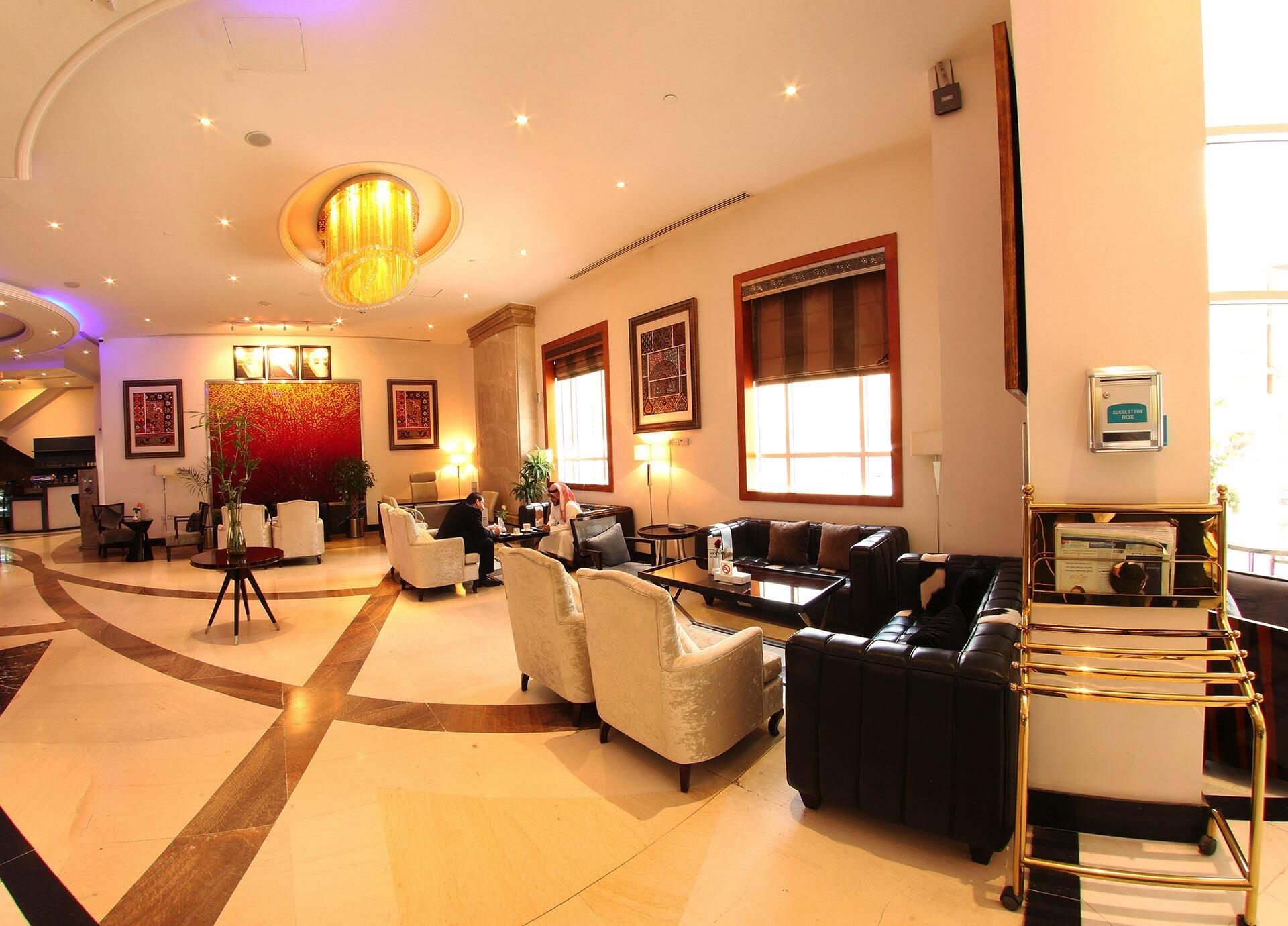 News Cafe at Dabab Hotel by Warwick