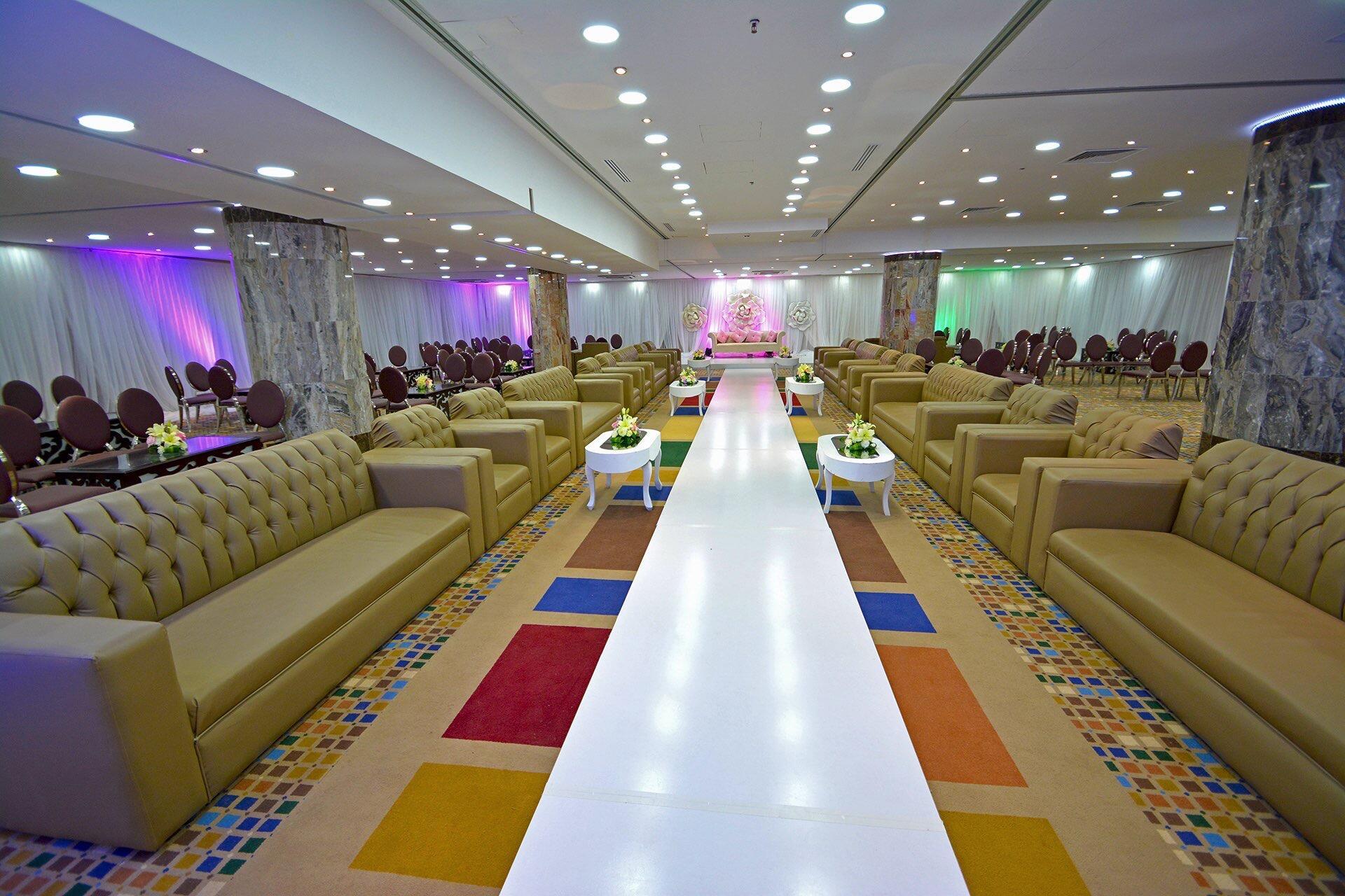 Ballroom at Dabab Hotel by Warwick