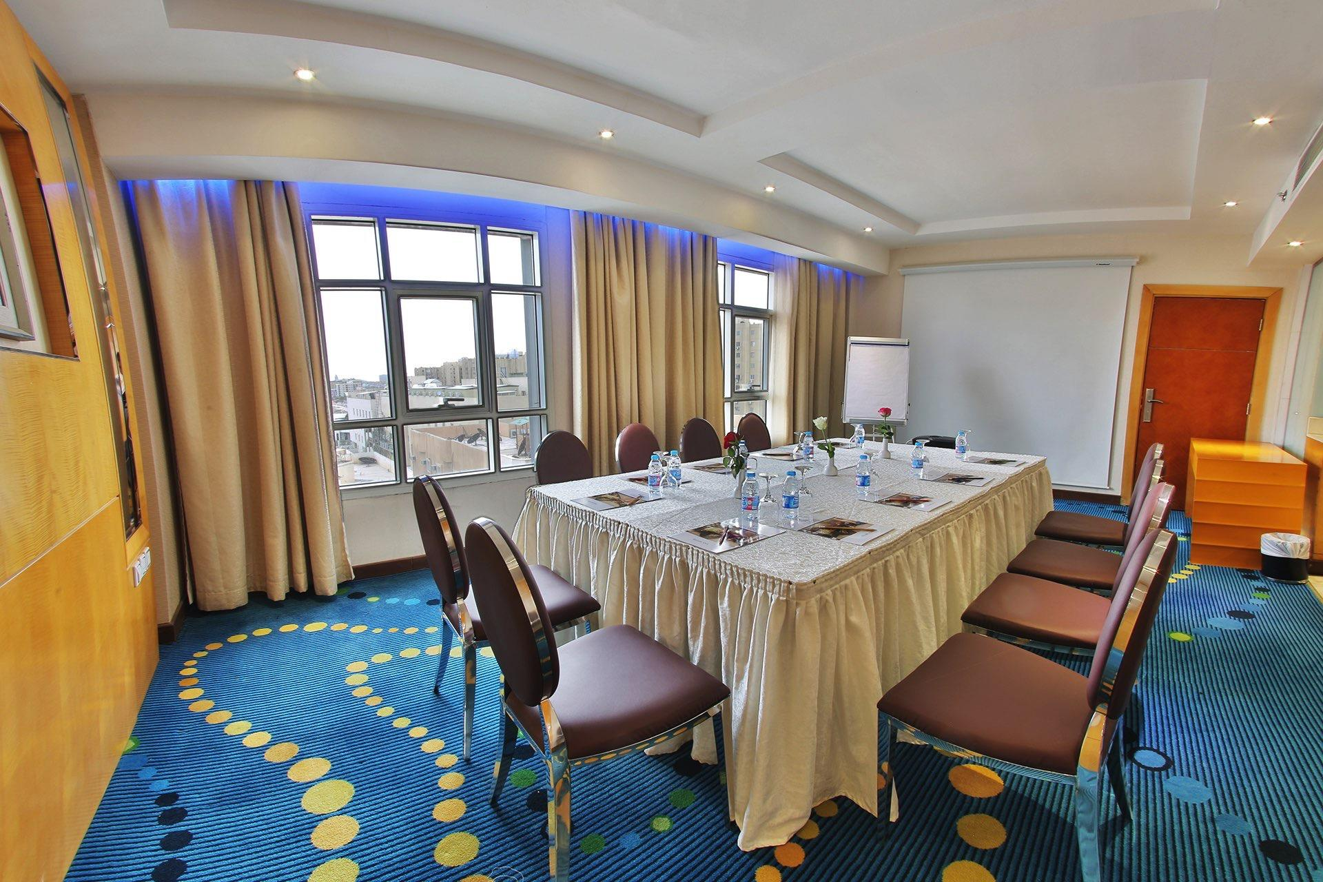 Meeting Room at Dabab Hotel by Warwick