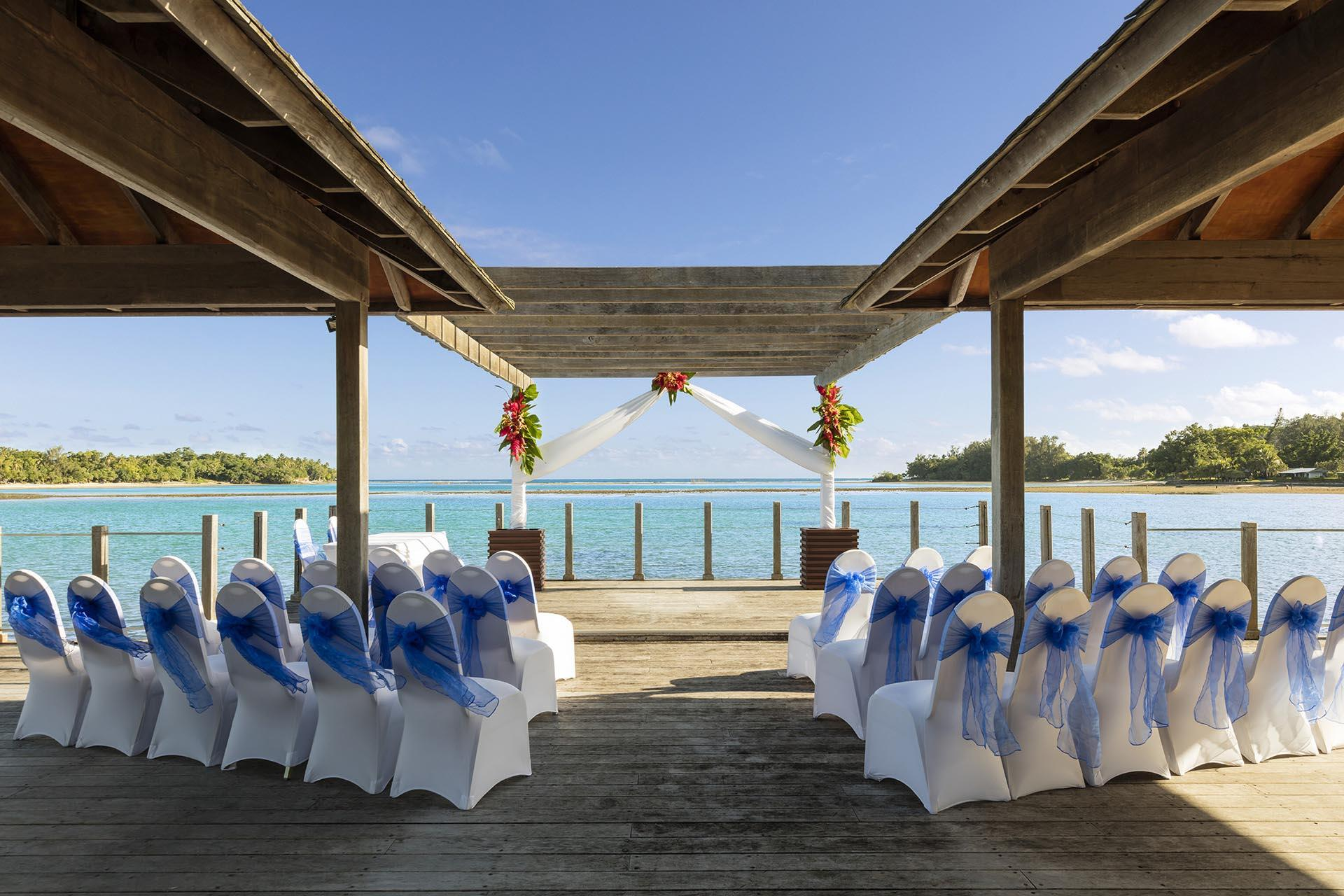 Wedding Sea Day at Warwick Le Lagon Vanuatu