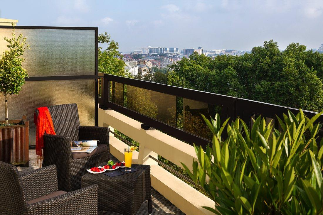 Suites Terrace  at Hotel Barsey by Warwick