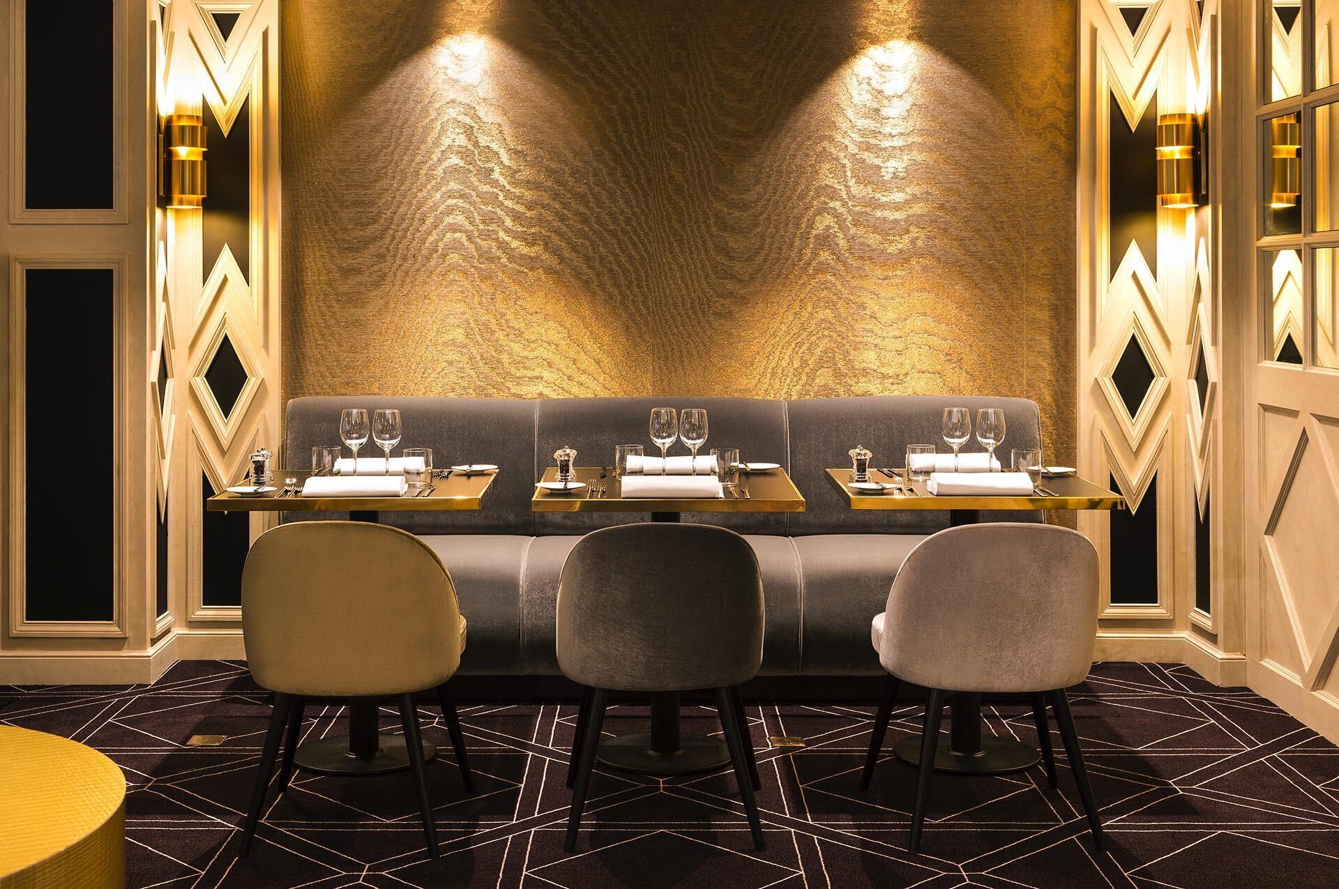Table pour 6personnes au restaurant The Avenue à l'Hotel Barsey
