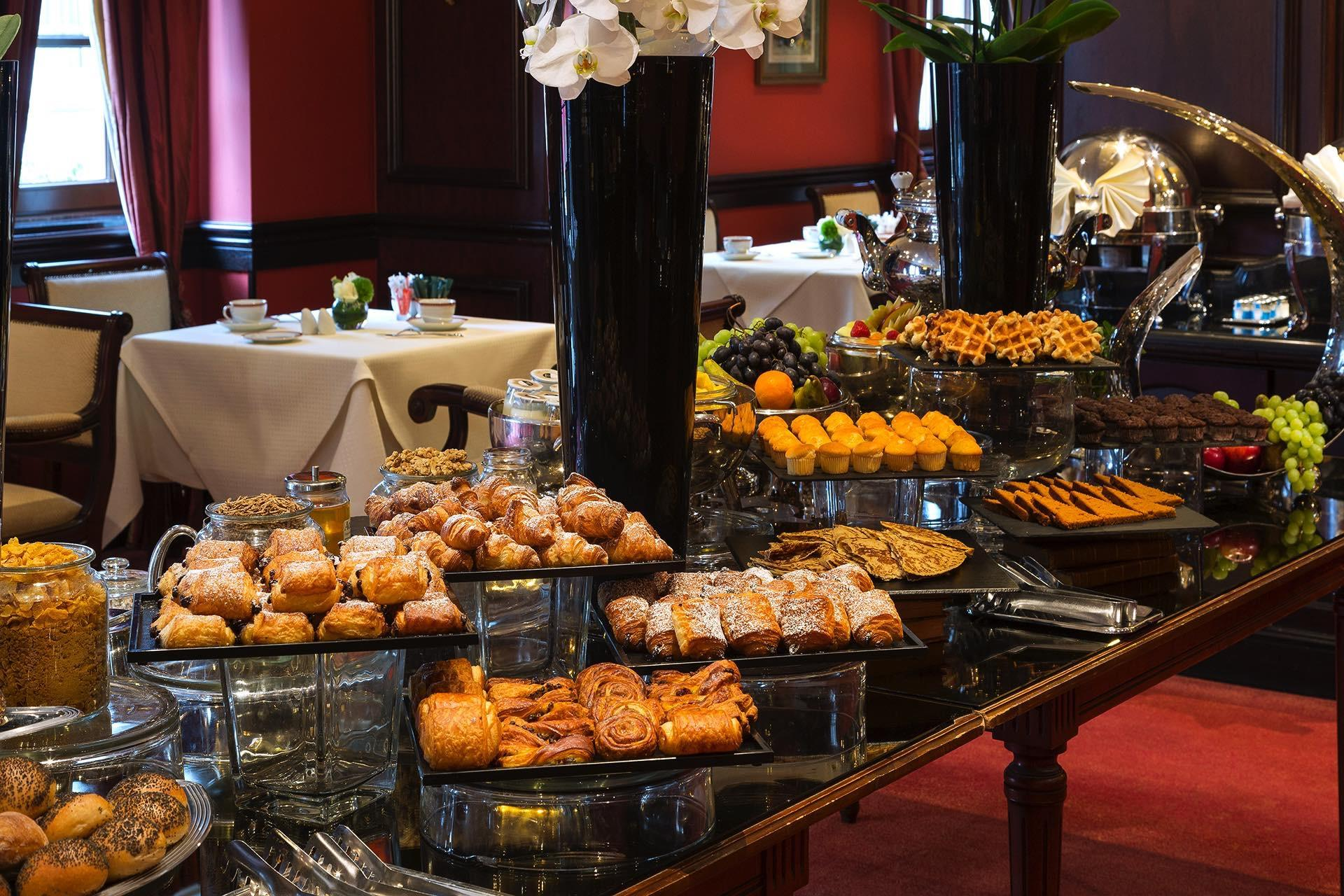 Breakfast Buffet Bakery at Warwick Brussels